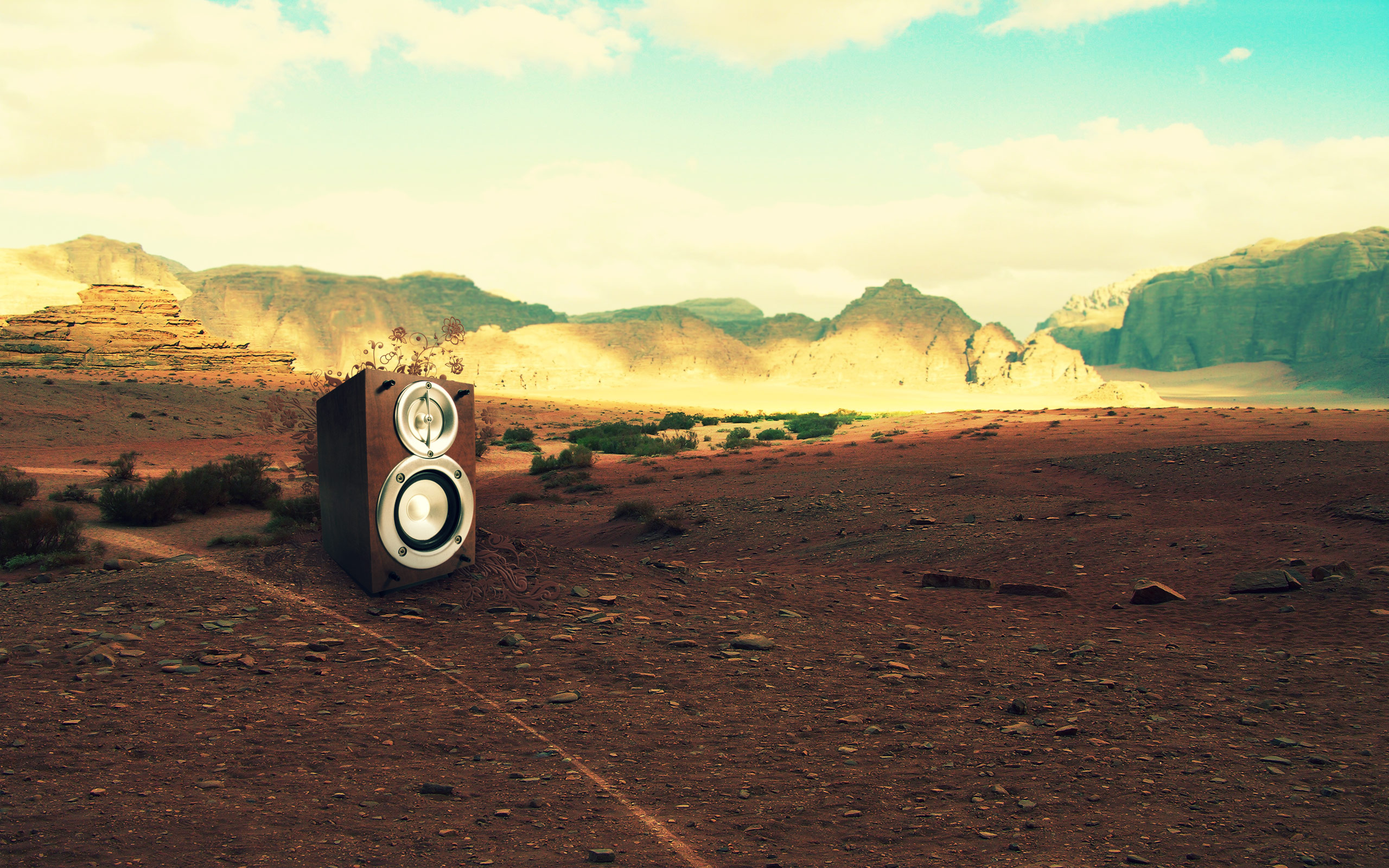 Desert Mountain 2560x1600