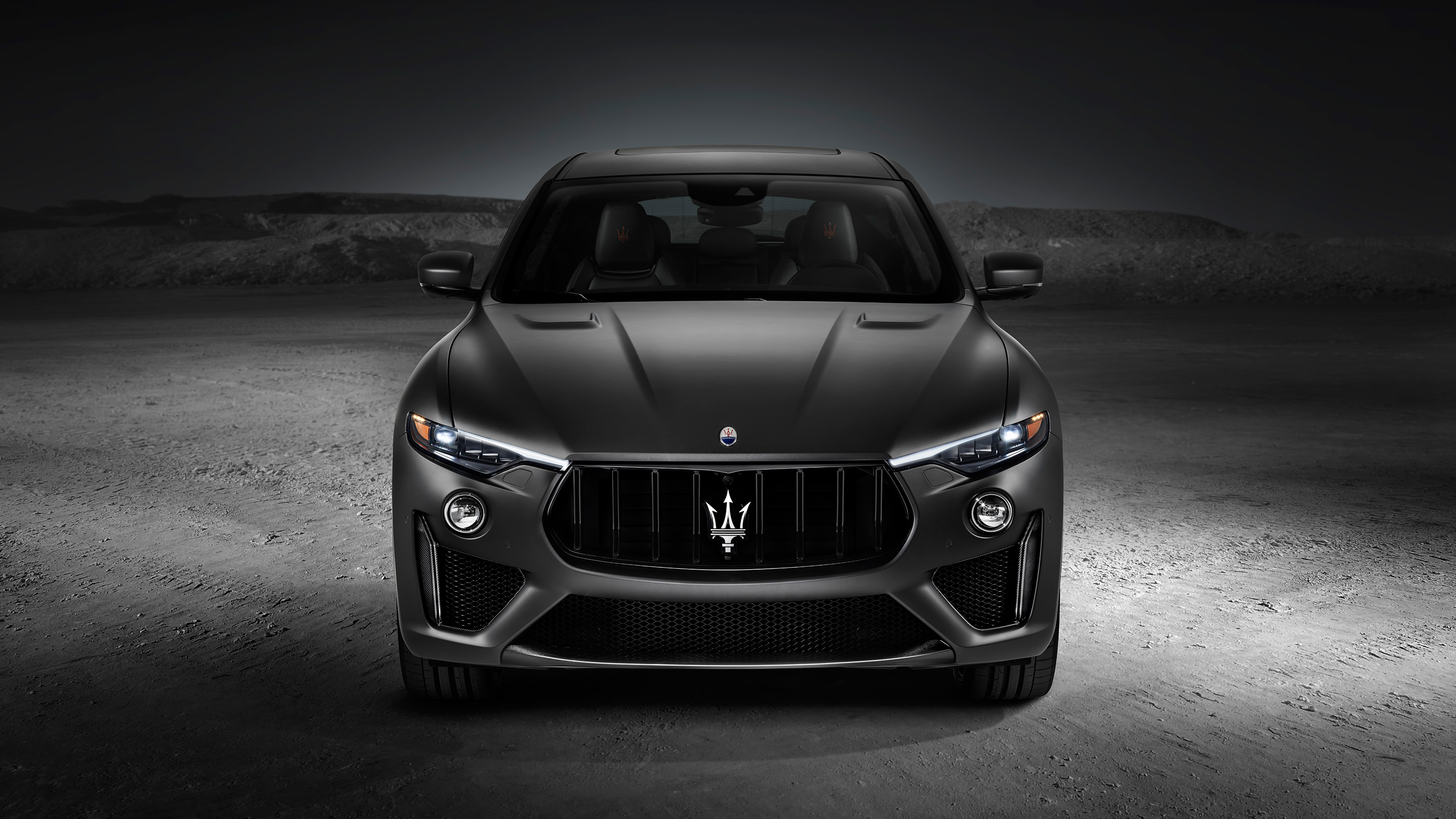 Black Car Car Luxury Car Maserati Levante Trofeo Wallpaper Resolution 3840x2160 Id 1047374 Wallha Com