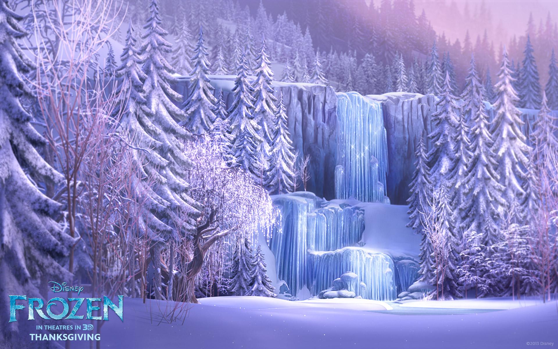 Waterfall Winter 1920x1200