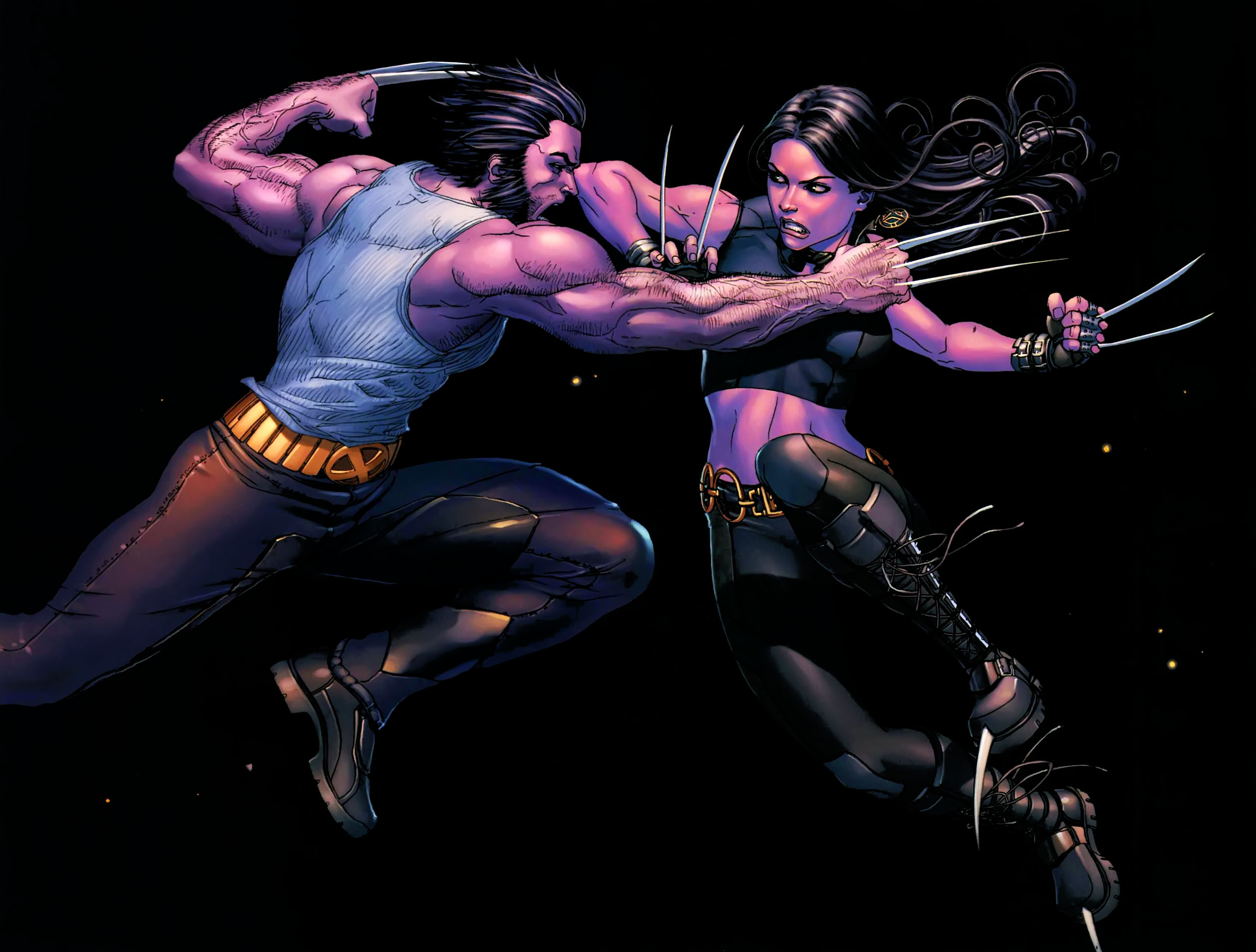 Comic Marvel Comics Superhero Wolverine X 23 2560x1940