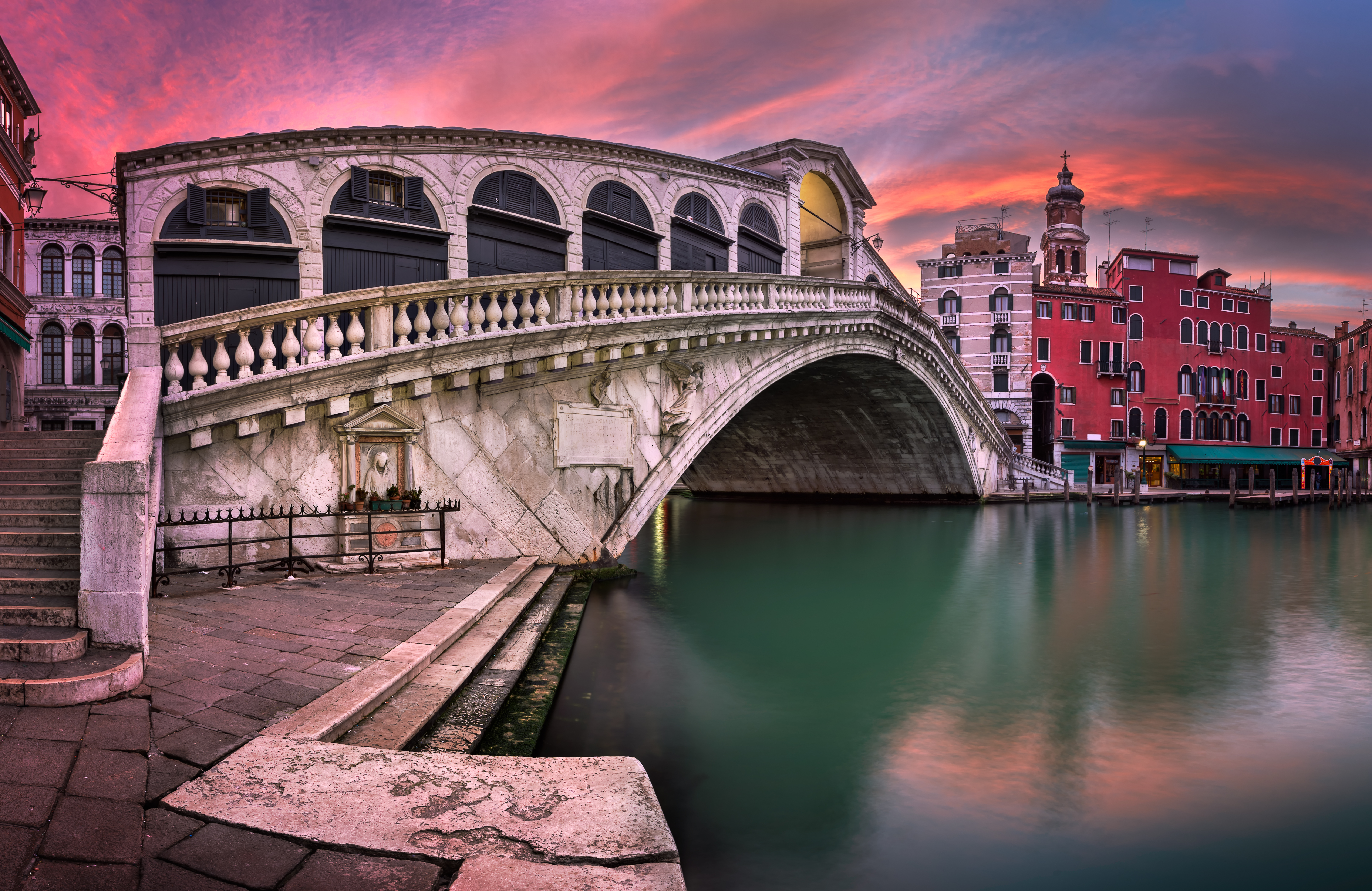 Bridge Italy Rialto Bridge Venice 6453x4190