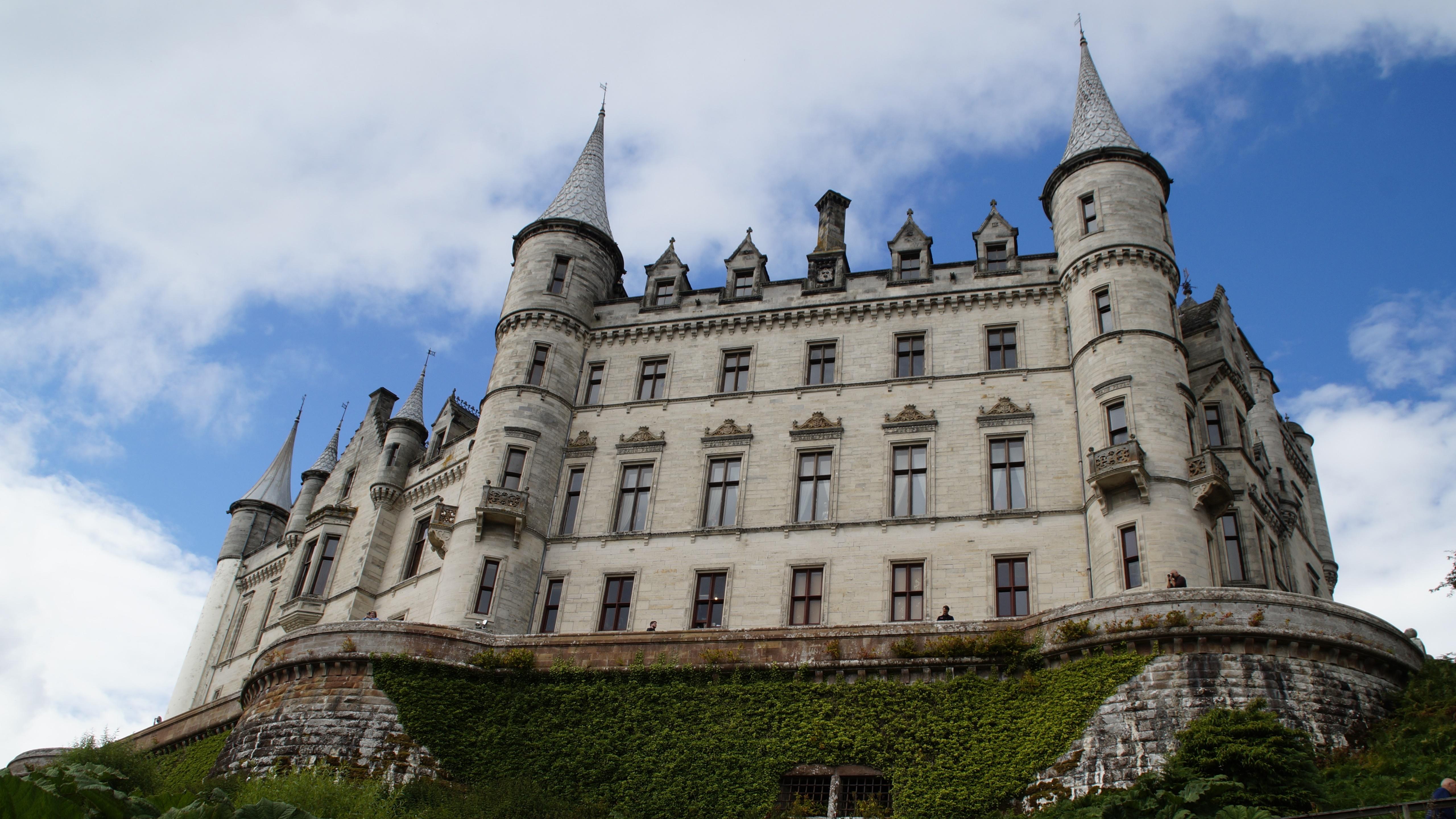 Architecture Castle Dunrobin Castle Scotland 5120x2880
