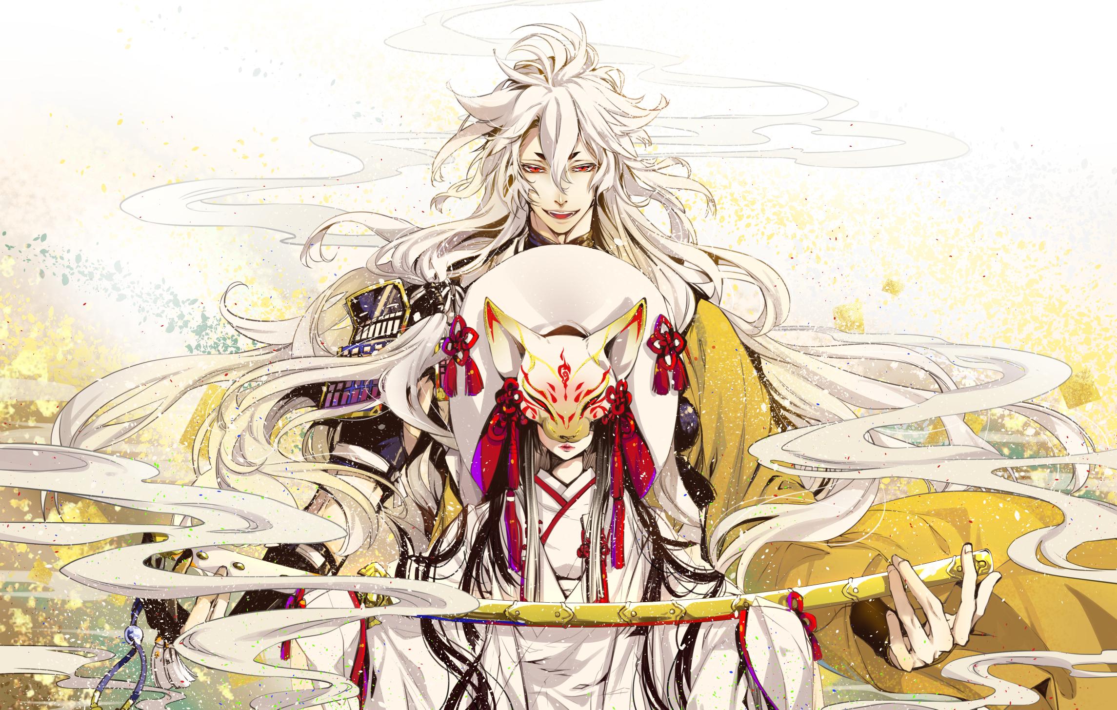 Anime Touken Ranbu 2290x1456