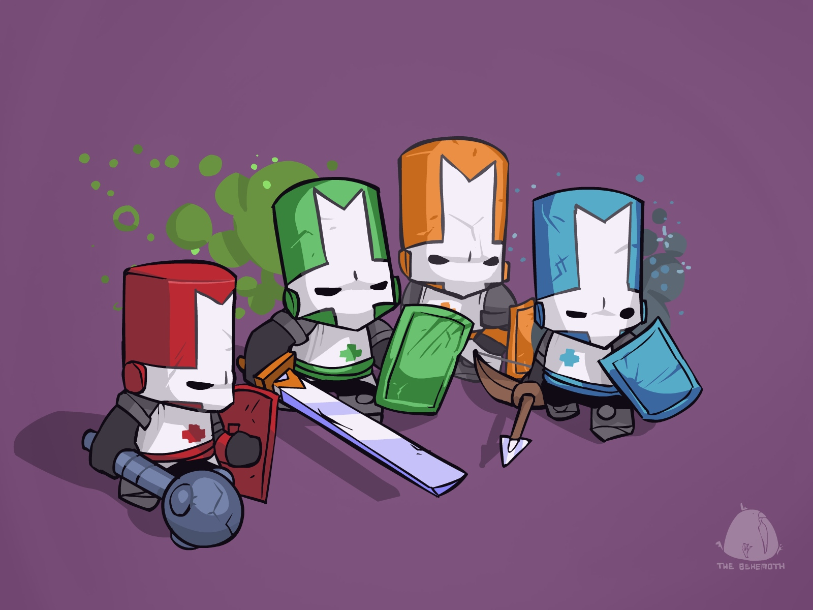 Video Game Castle Crashers 1600x1200