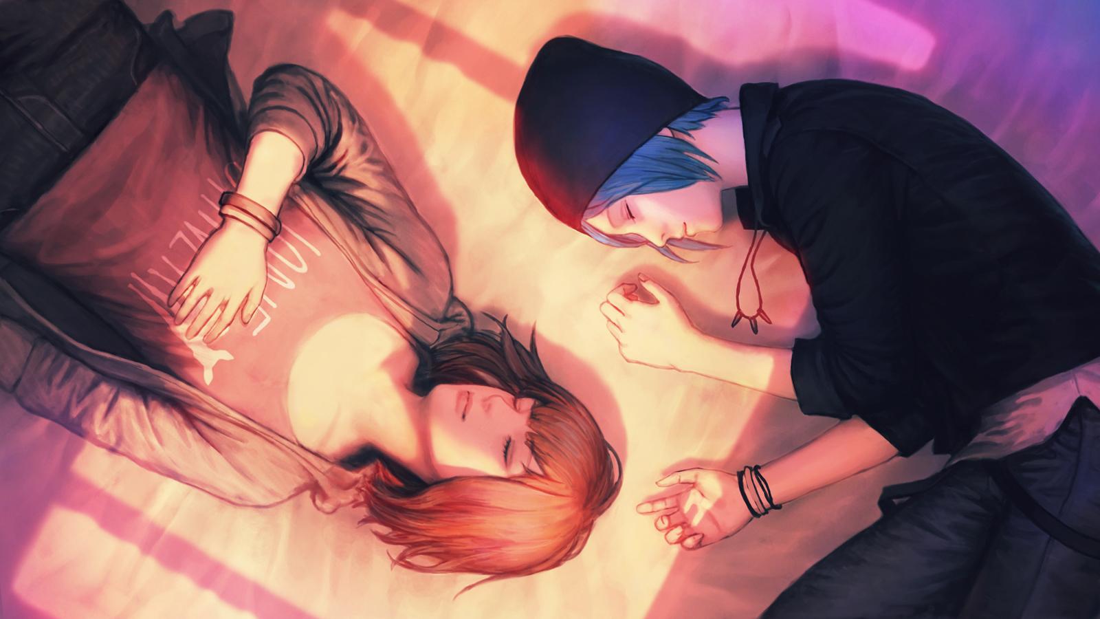 Chloe Price Life Is Strange Max Caulfield Sleeping 1600x900
