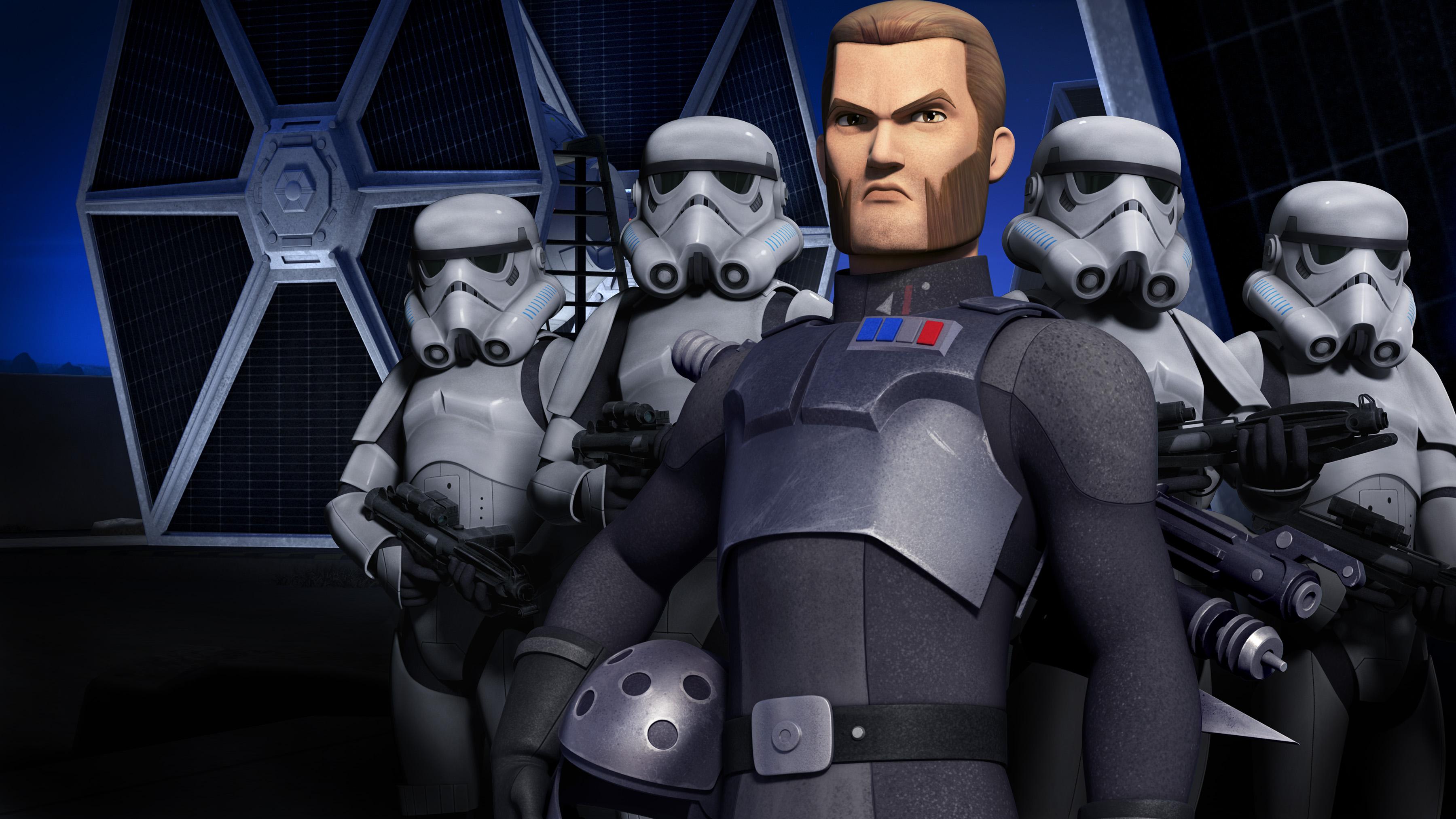 Agent Kallus Clone Trooper Star Wars Rebels 3600x2026
