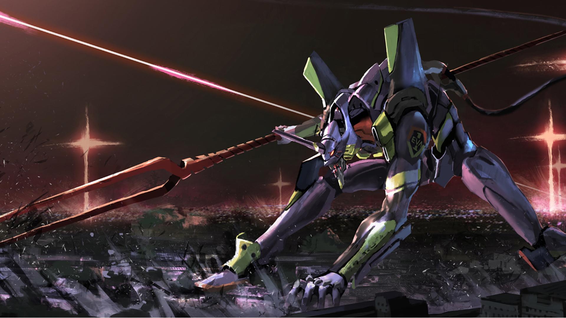 Anime Evangelion Unit 01 Neon Genesis Evangelion 1920x1080