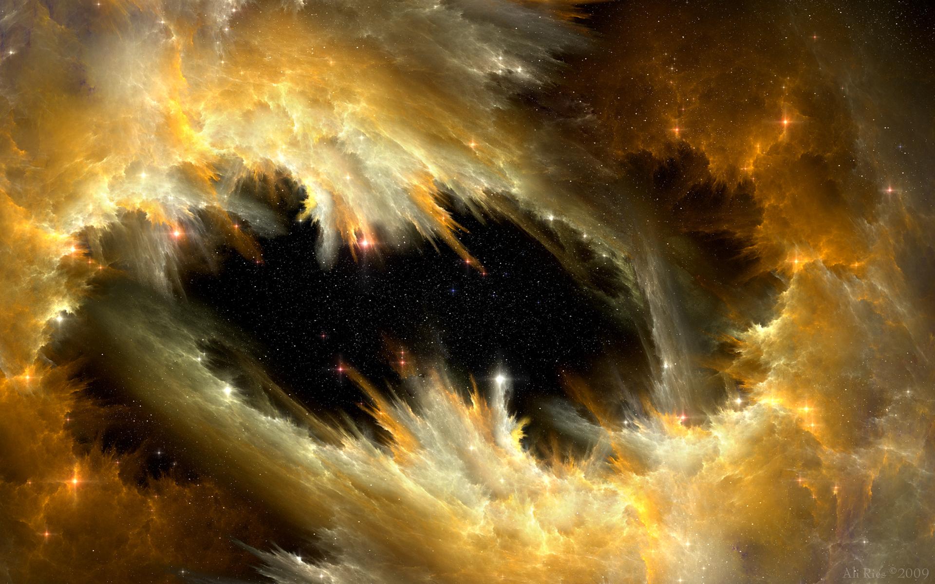 Sci Fi Nebula 1920x1200
