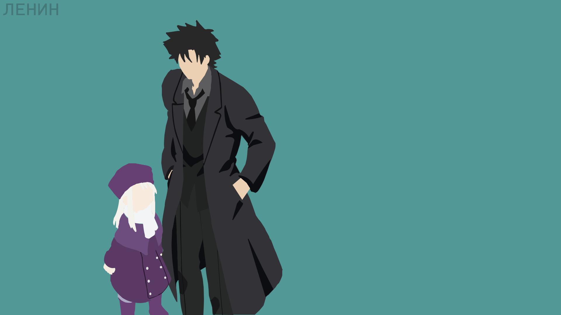 Anime Black Hair Boy Coat Fate Series Fate Zero Girl Hat Illyasviel Von Einzbern Kiritsugu Emiya Min 1920x1080
