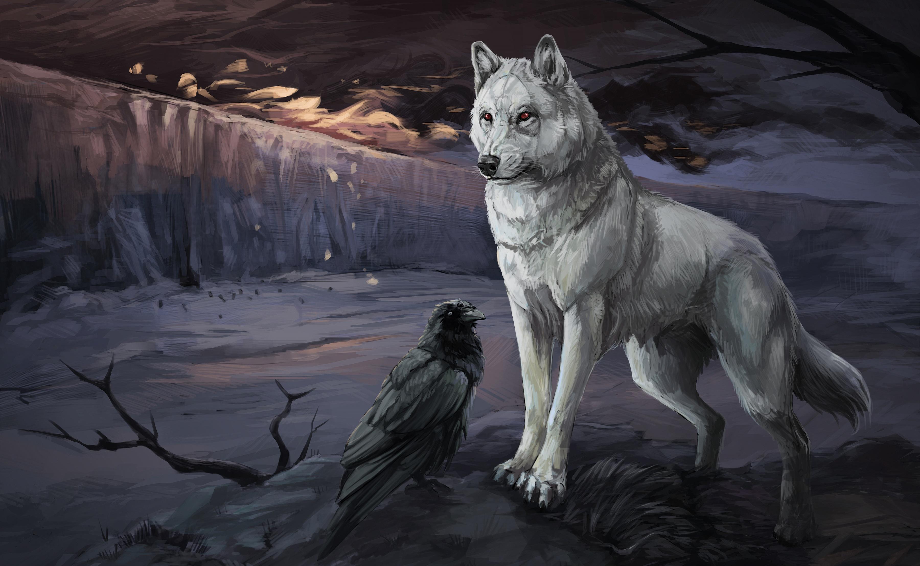 Crow Wolf 3600x2216