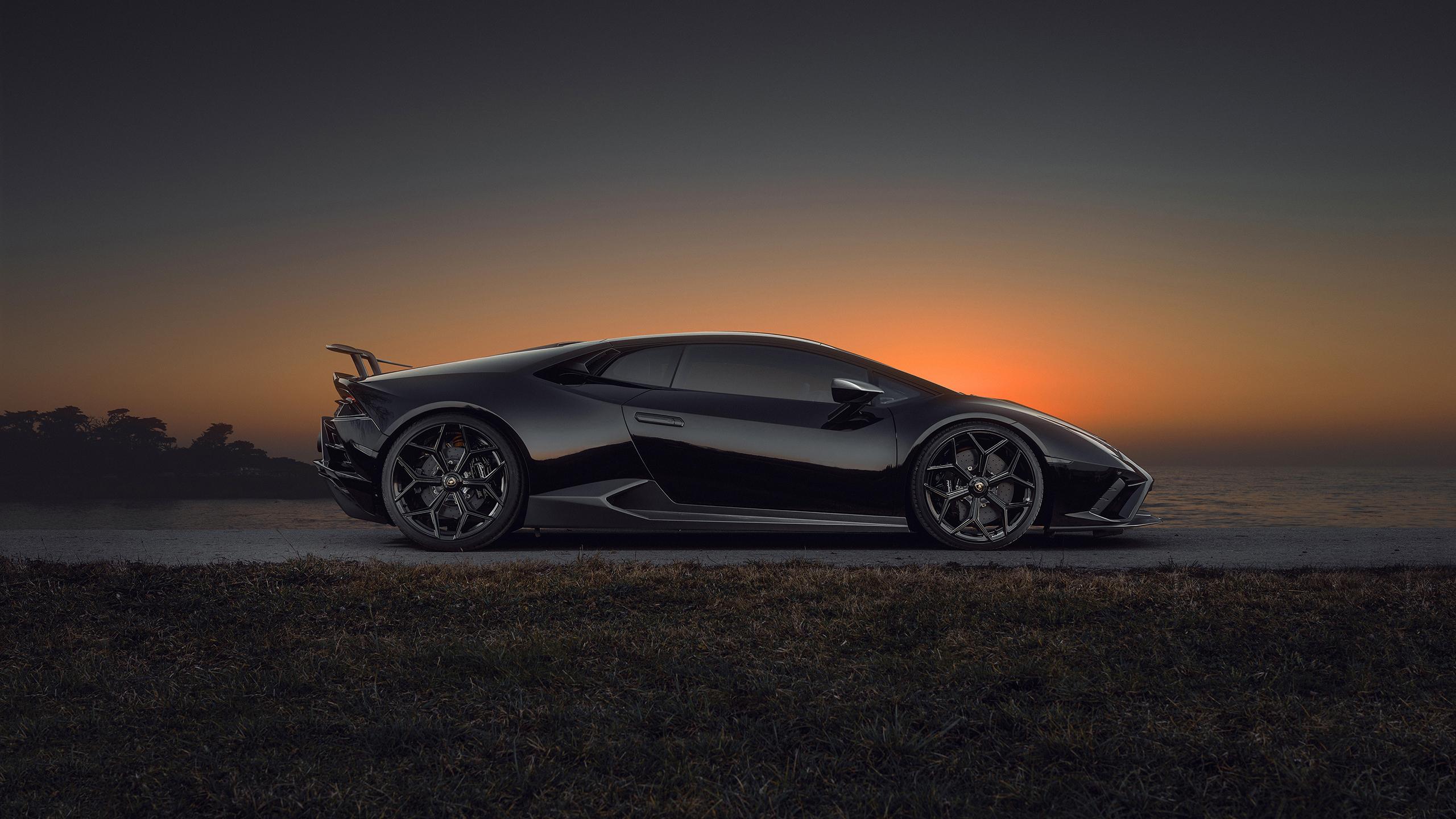 Lamborghini Huracan EVO RWD Lamborghini Huracan Lamborghini Supercars Italian Supercars Vehicle Car  2560x1440