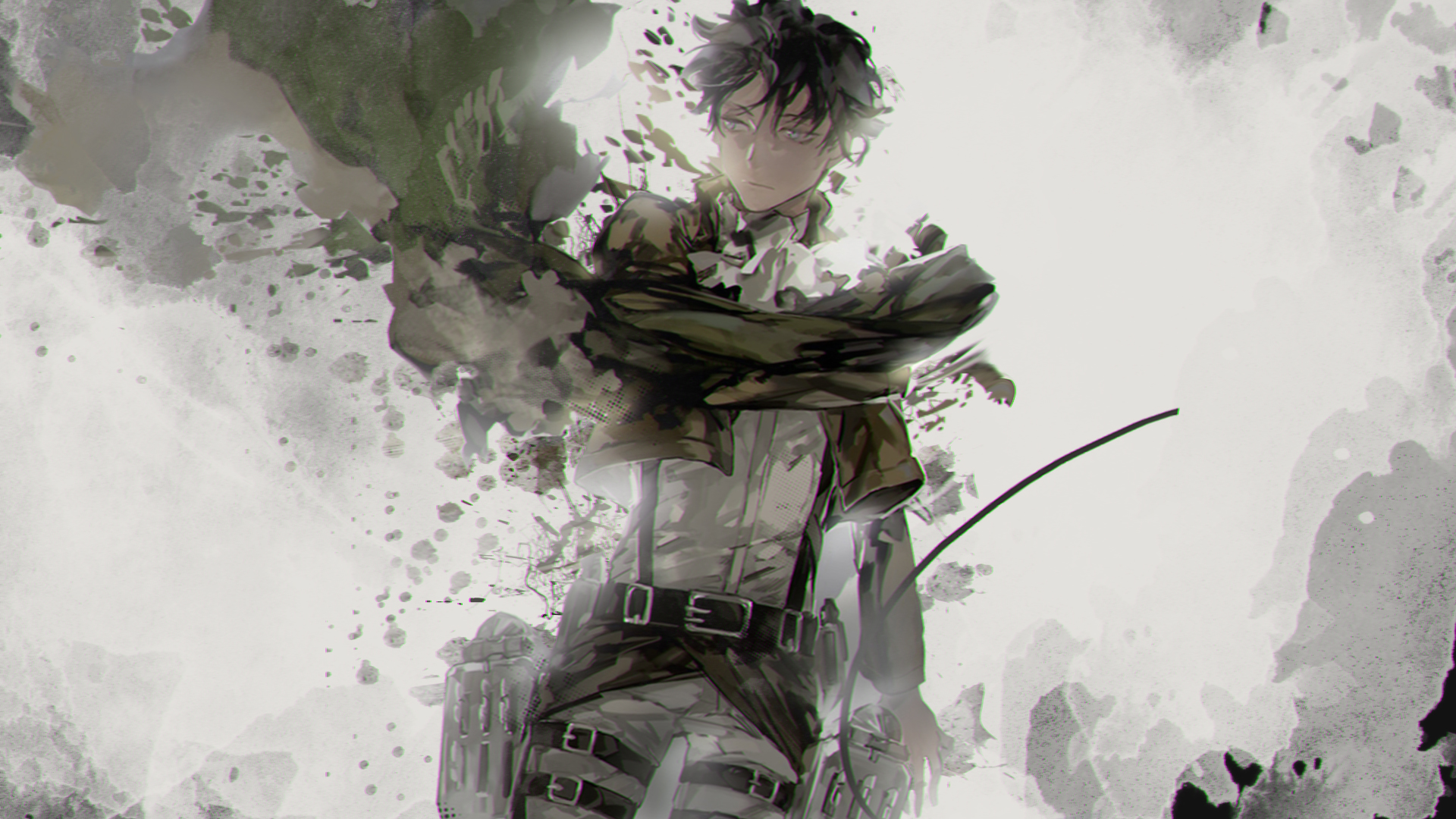 Attack On Titan Levi Ackerman Shingeki No Kyojin 1920x1080