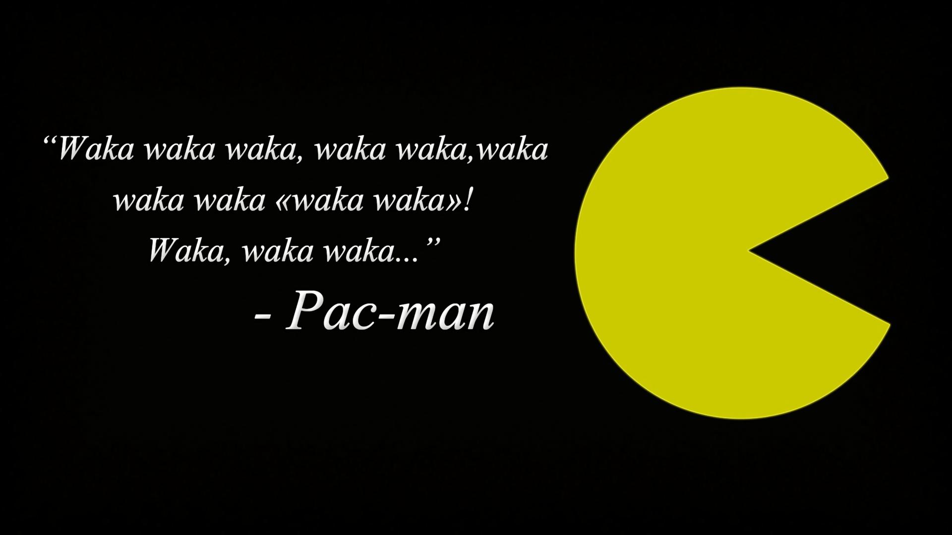 Video Game Pac Man 1920x1080