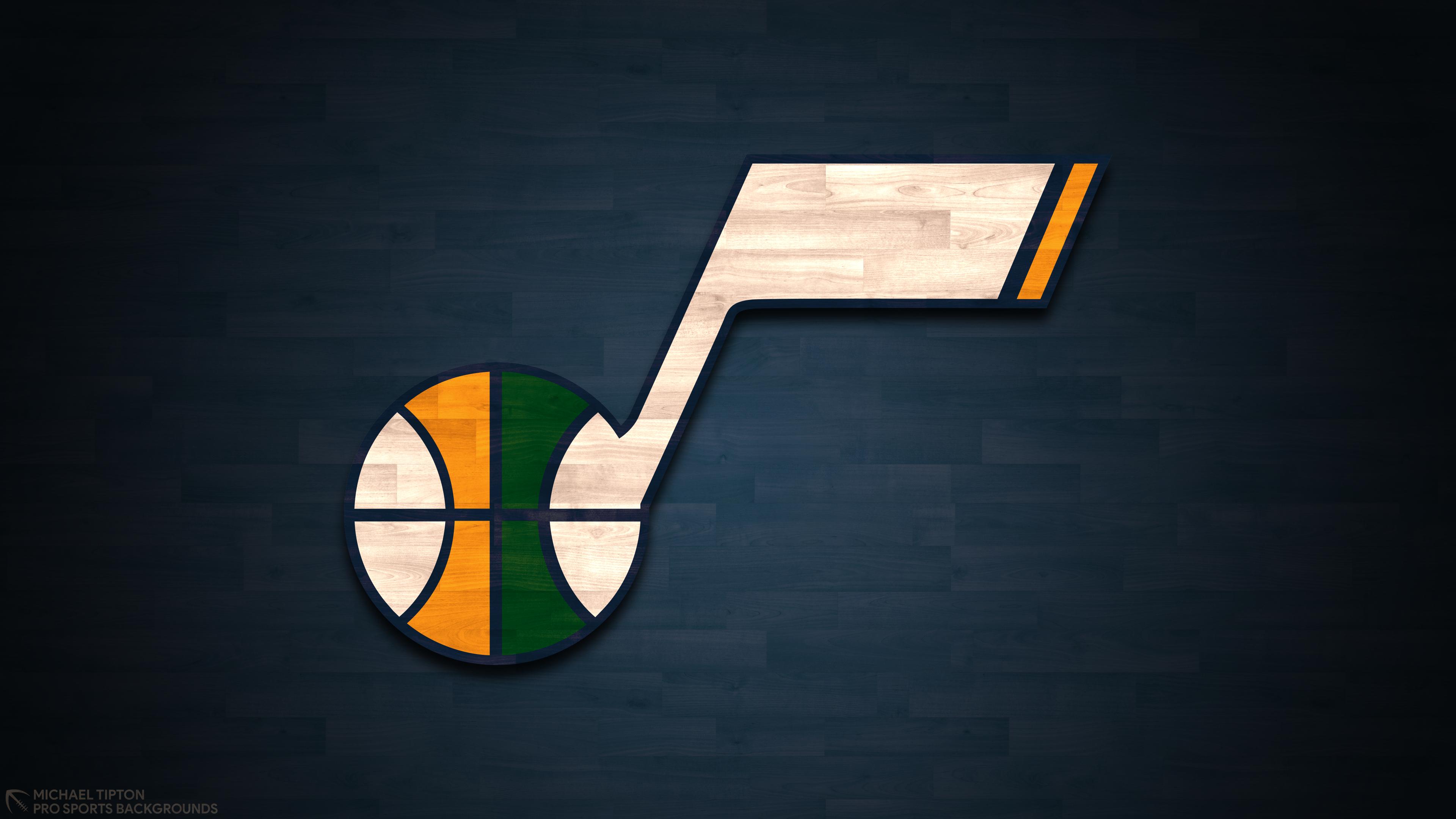 Basketball Logo Nba Utah Jazz 3840x2160