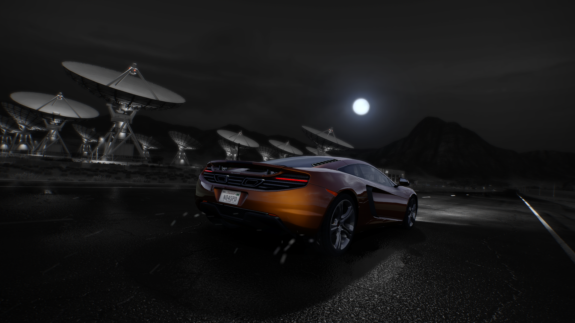 Need For Speed Hot Pursuit McLaren MP4 12C McLaren Car Vehicle Video Games 1920x1080