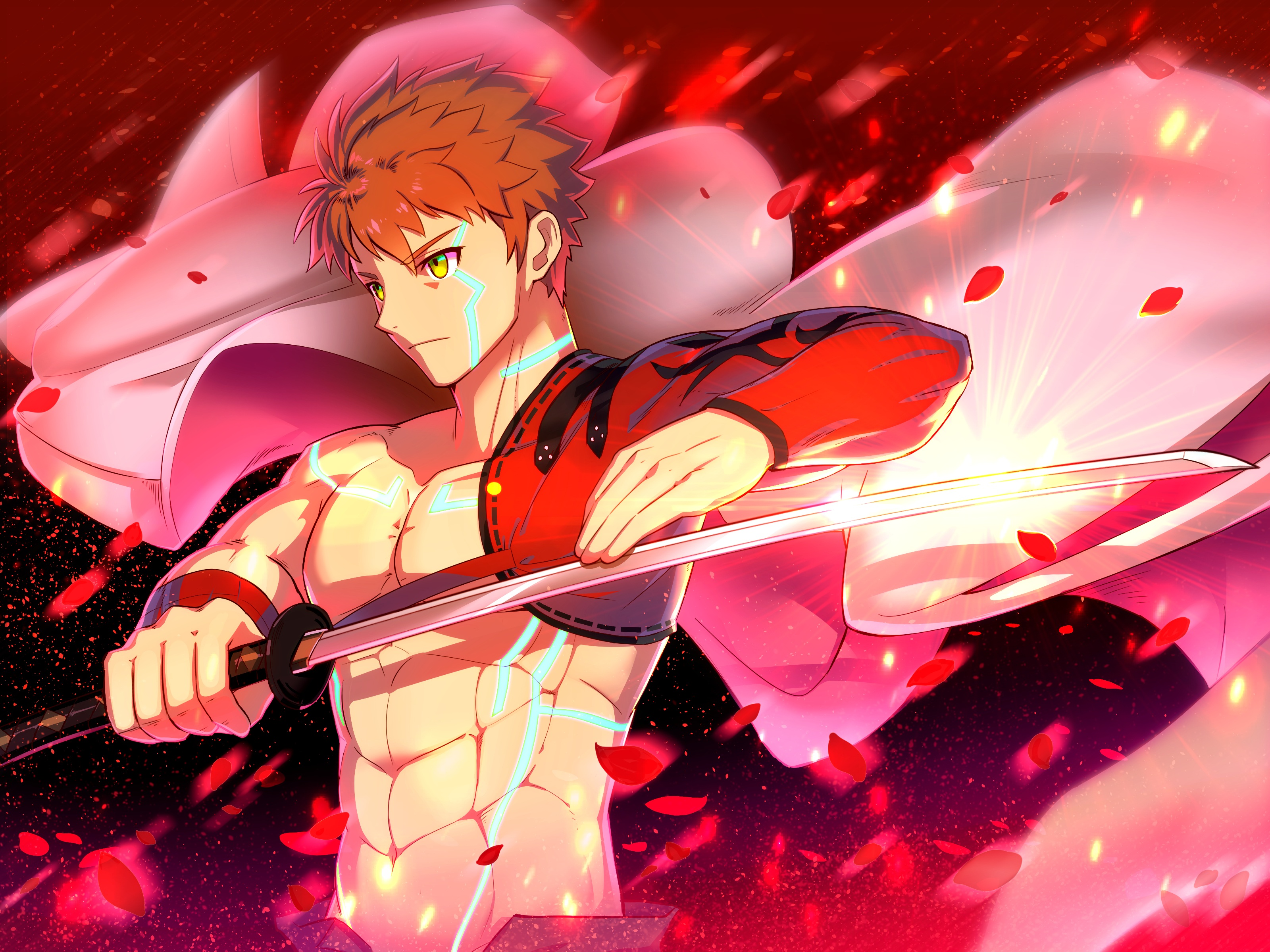 Saber Fate Series Senji Muramasa Shirou Emiya 3200x2400