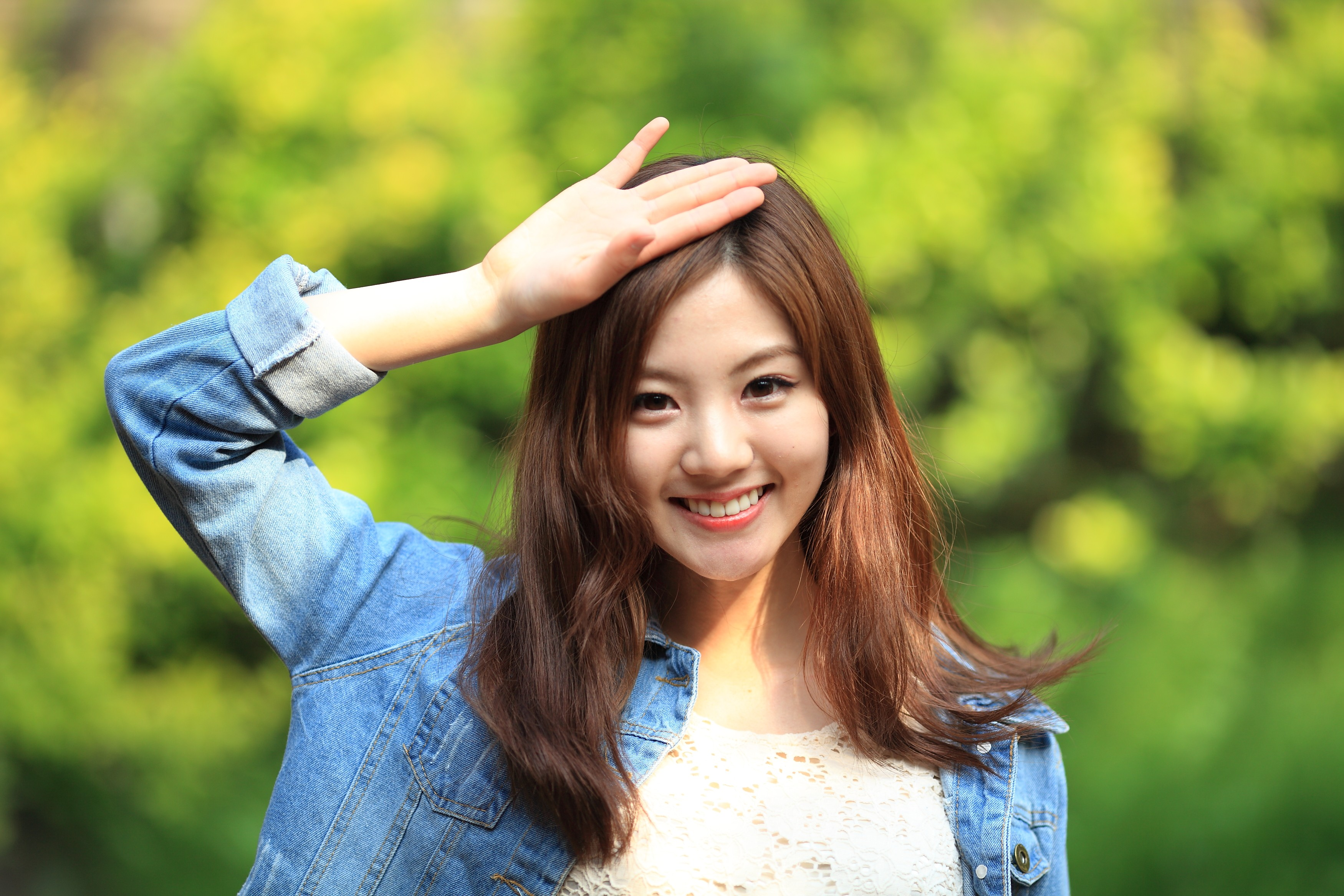 Asian Brunette Girl Model Smile Woman 3500x2333