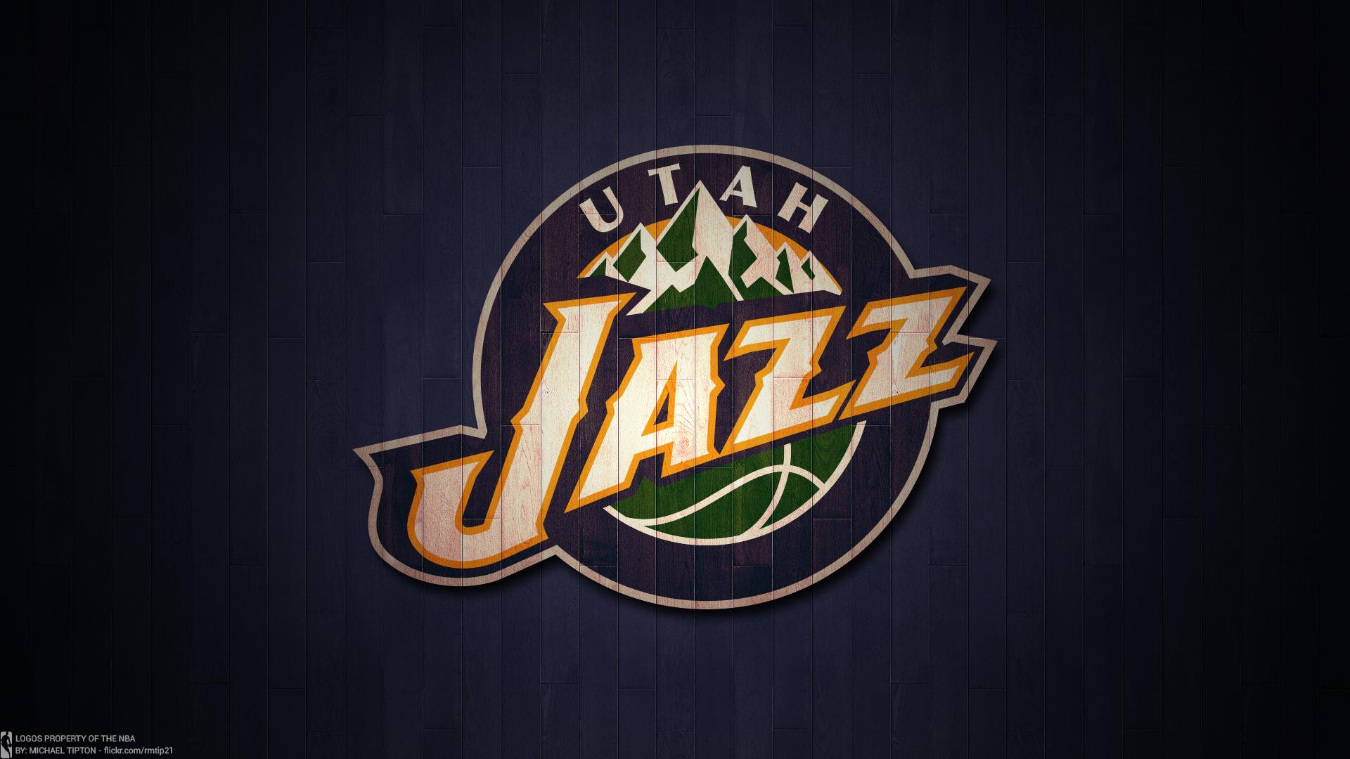 Basketball Emblem Nba Utah Jazz 1920x1080