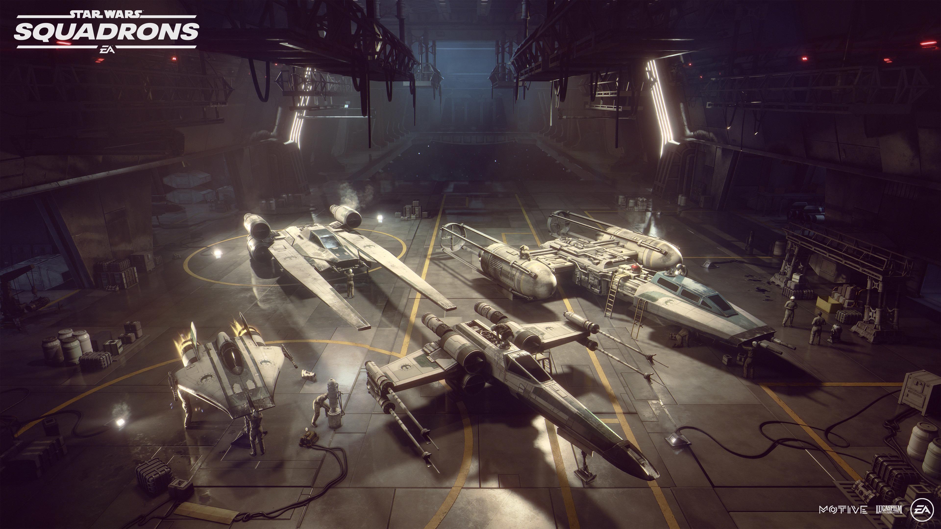 Star Wars Star Wars Squadrons 3840x2160