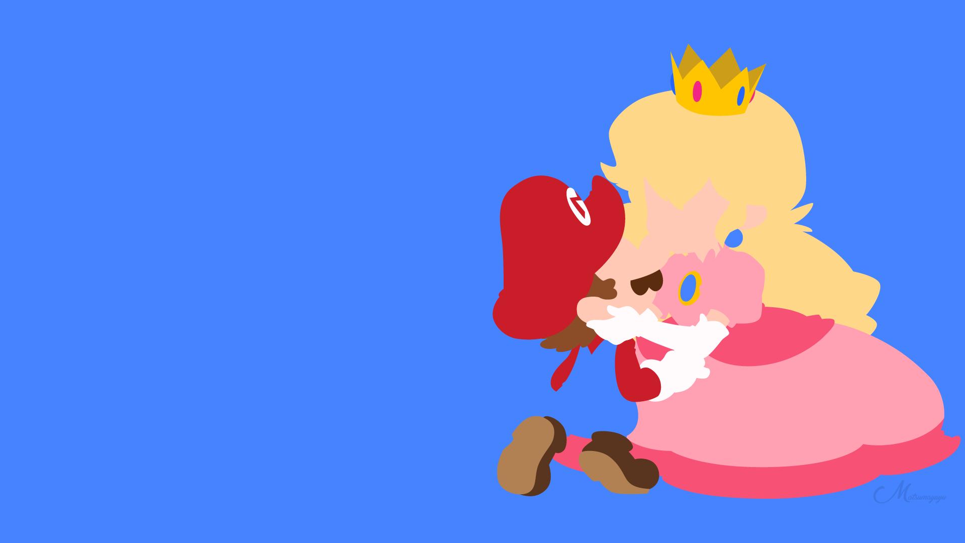 Mario Peachette Super Mario 1920x1080