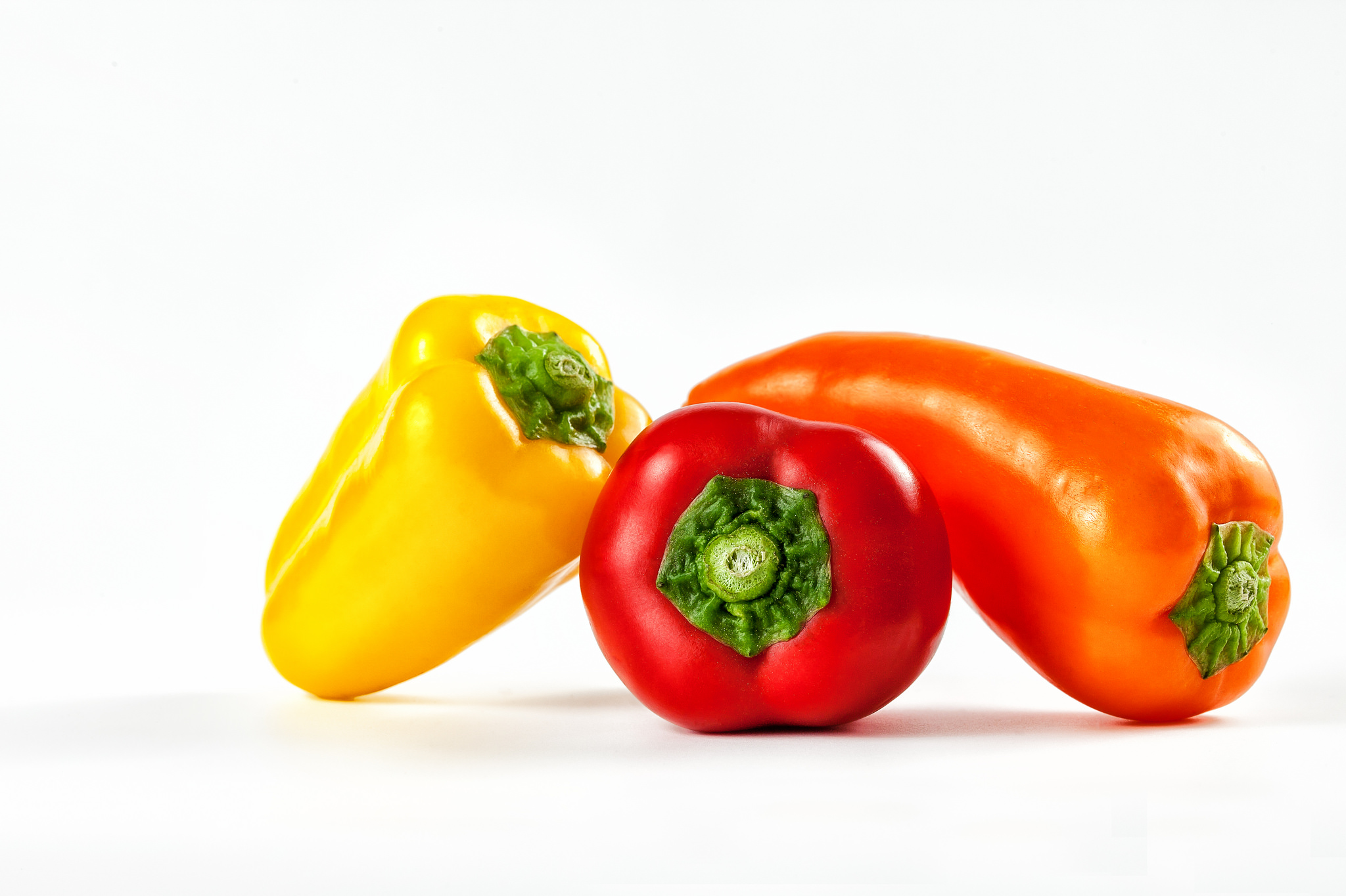 Bell Pepper Red Yellow Orange Color 2048x1365