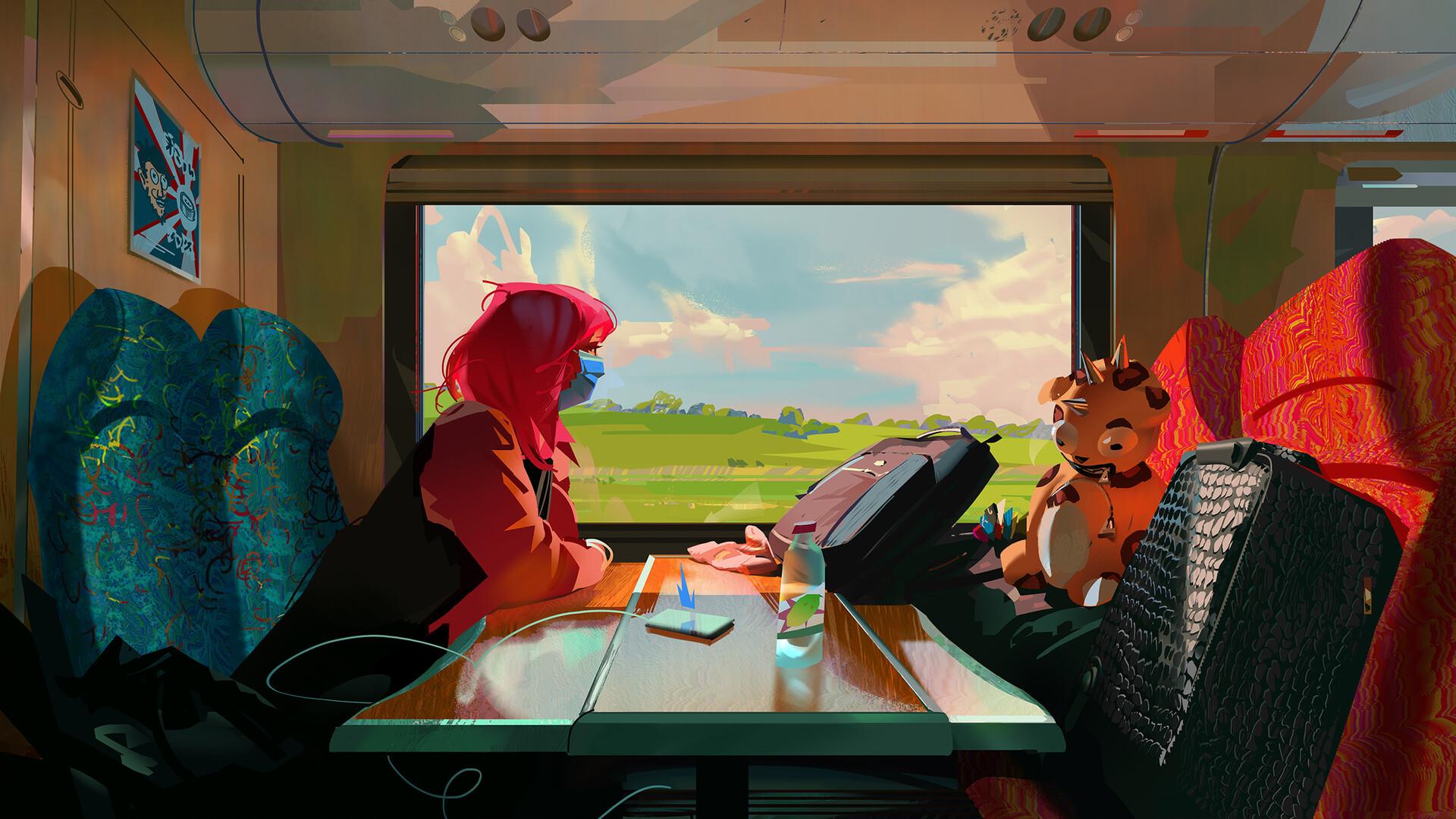 Train Window 1920x1081