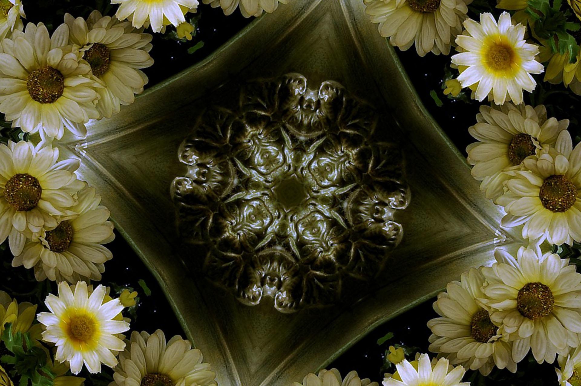 Digital Art Flower 1920x1277