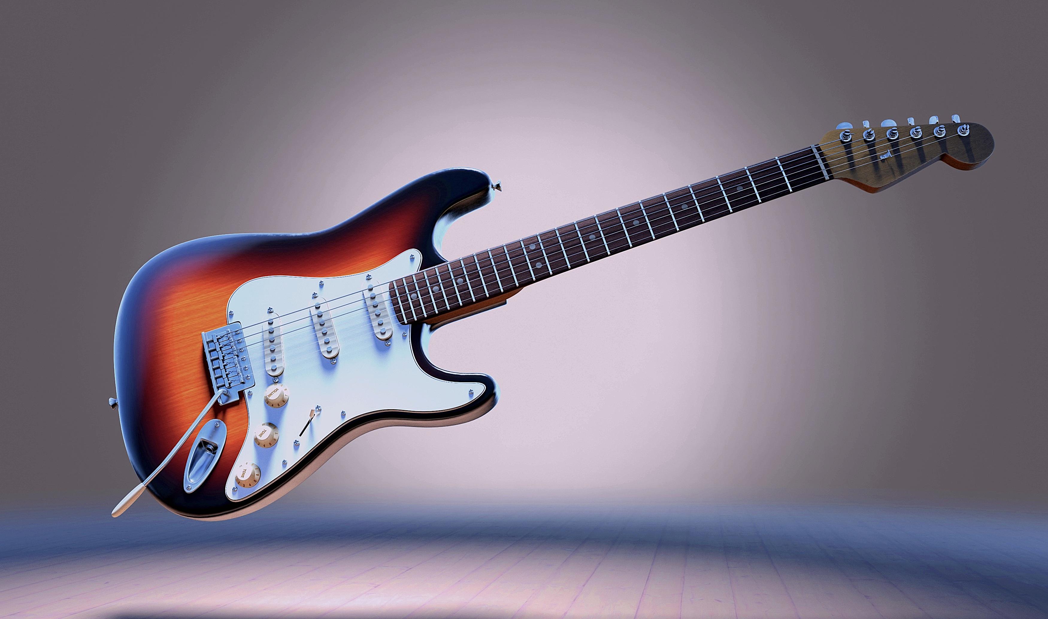 Electric Guitar Gibson Guitar Instrument 3500x2068
