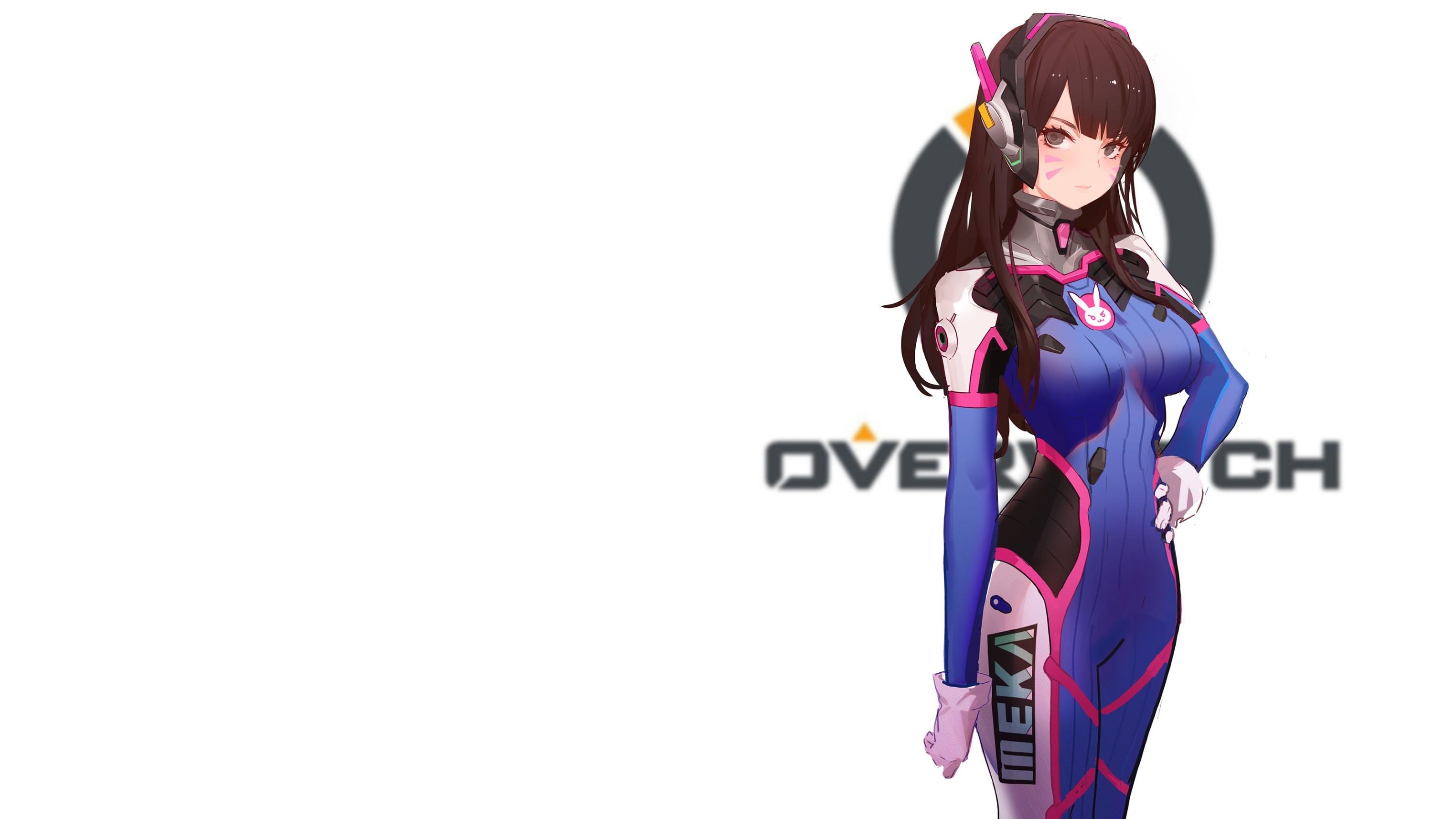 D Va Overwatch 3048x1714