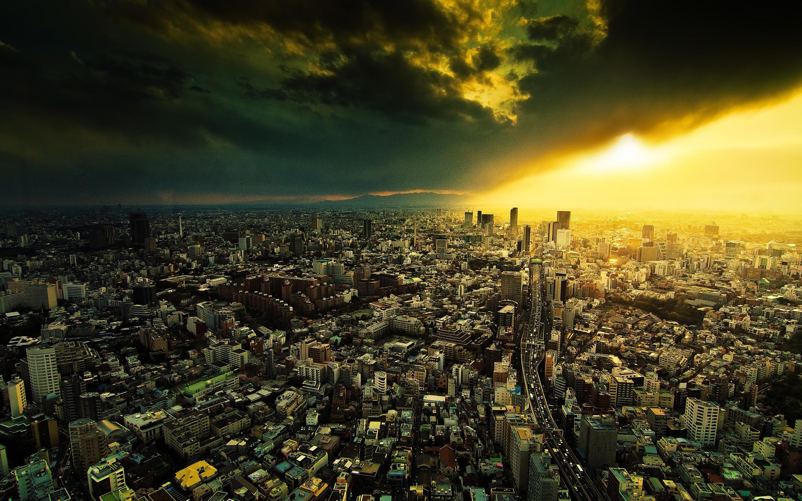 Man Made City 2560x1600
