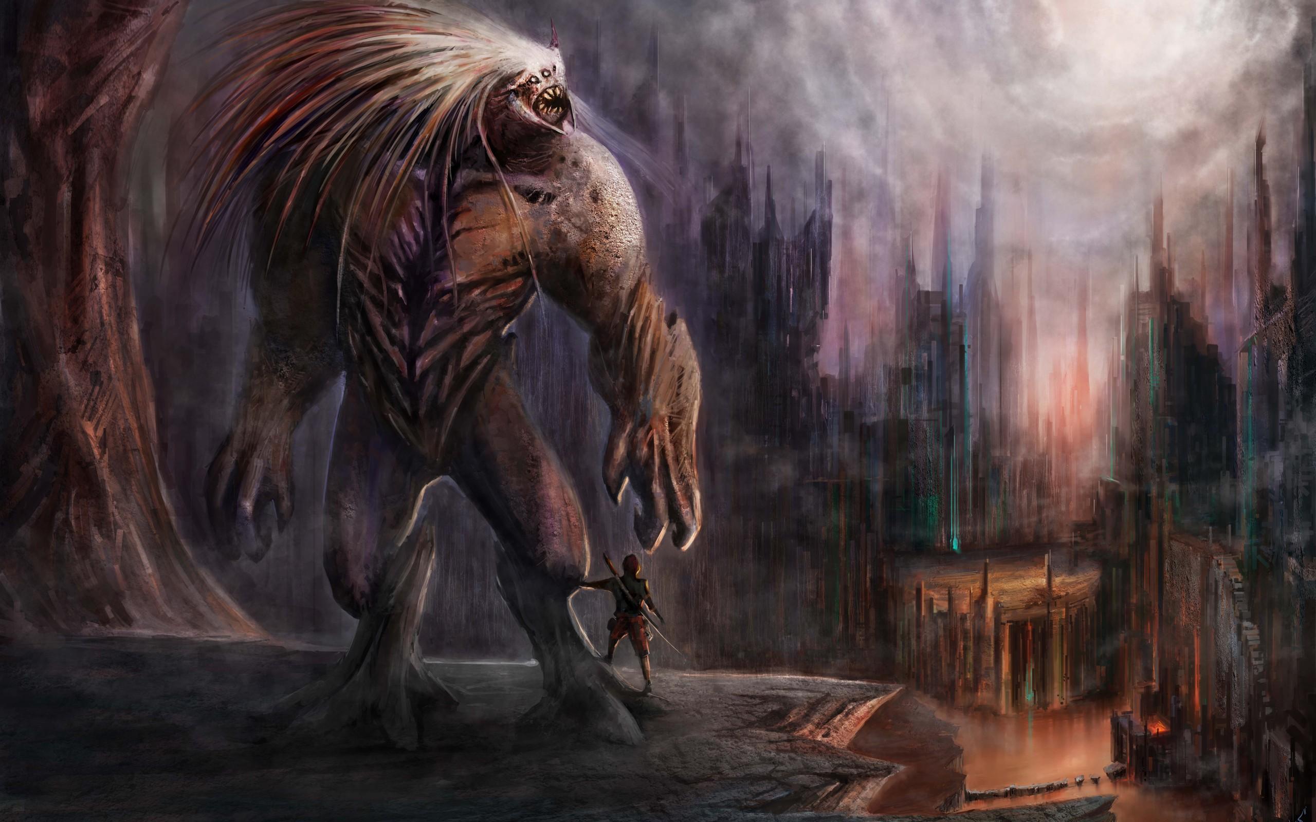 Fantasy Creature 2560x1600