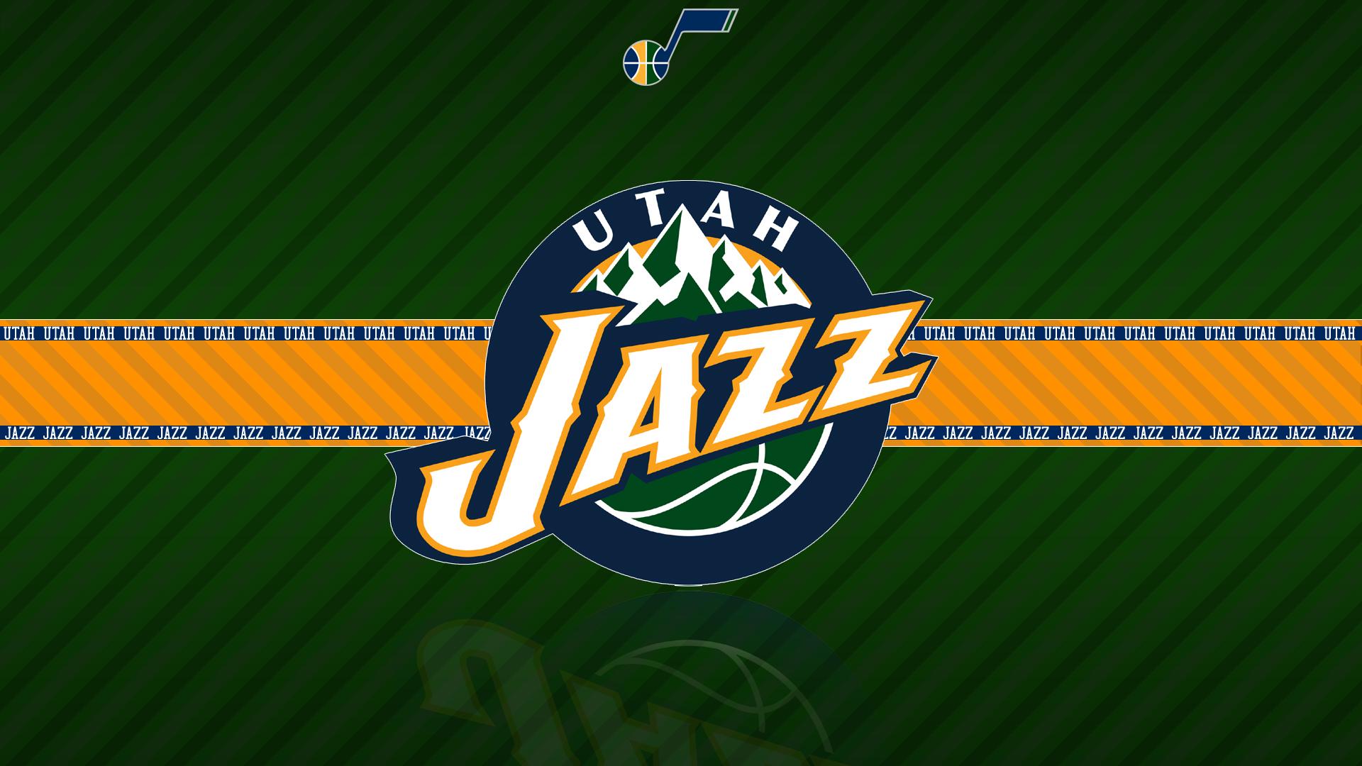Basketball Emblem Logo Nba Utah Jazz 1920x1080