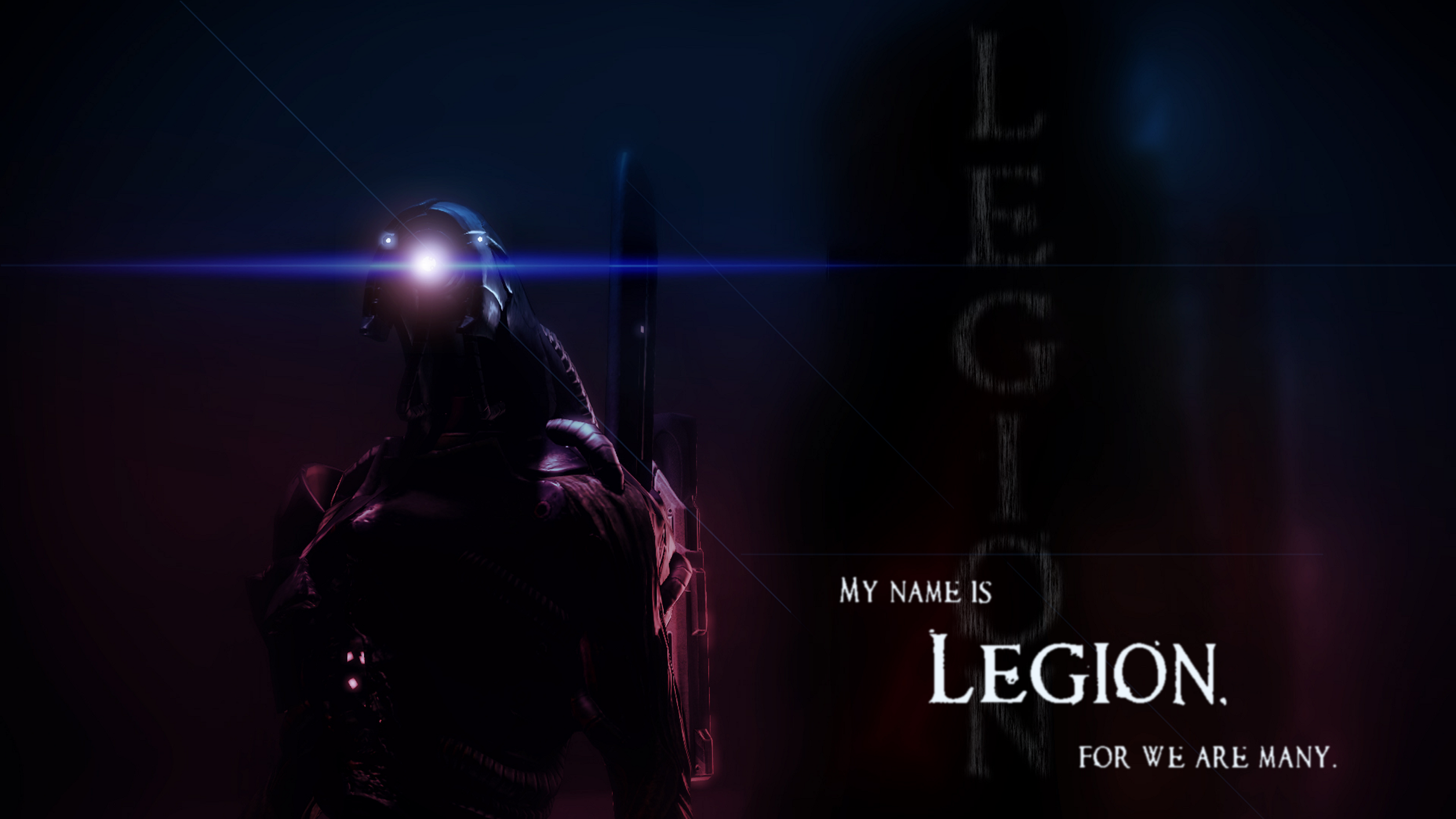 Legion Mass Effect 3840x2160