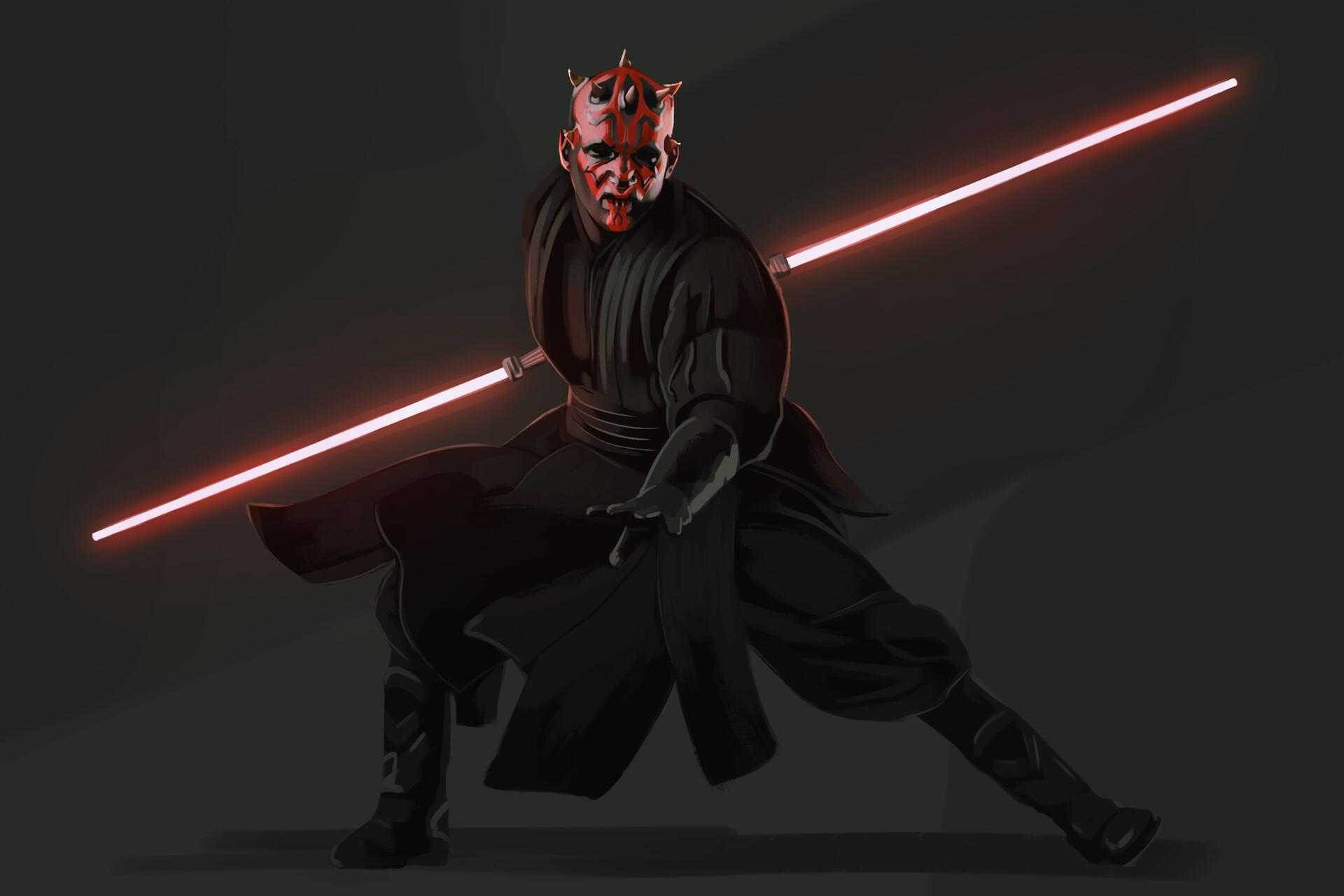 Darth Maul Lightsaber Sith Star Wars Star Wars 1920x1280