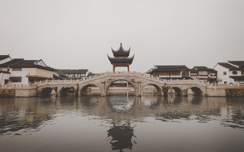 Bridge Ancient Chinese Architecture Chinese Architecture 3000x1875
