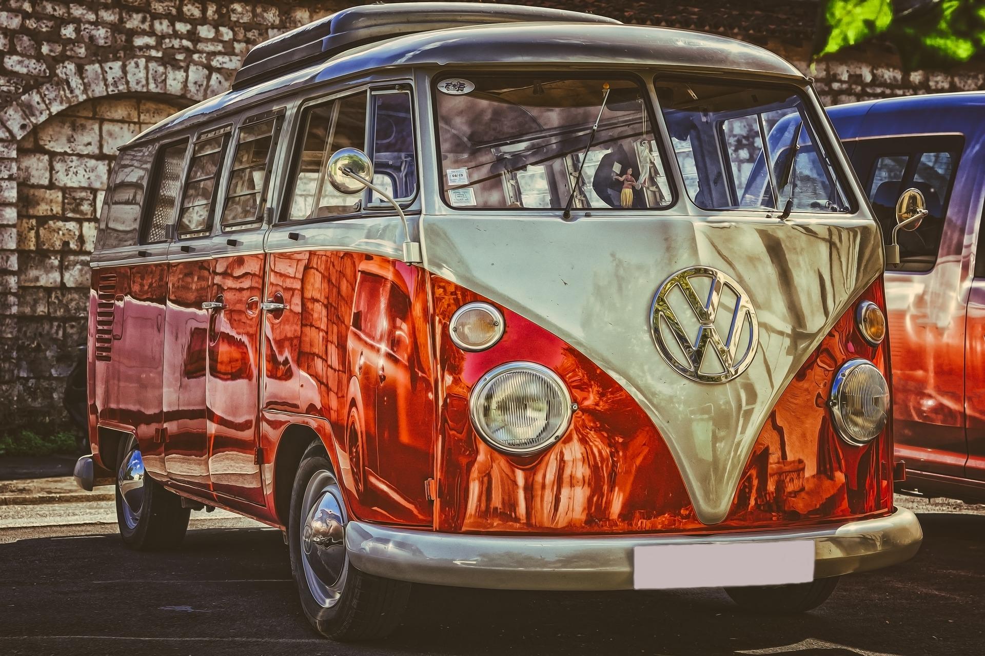Retro Van Volkswagen 1920x1280