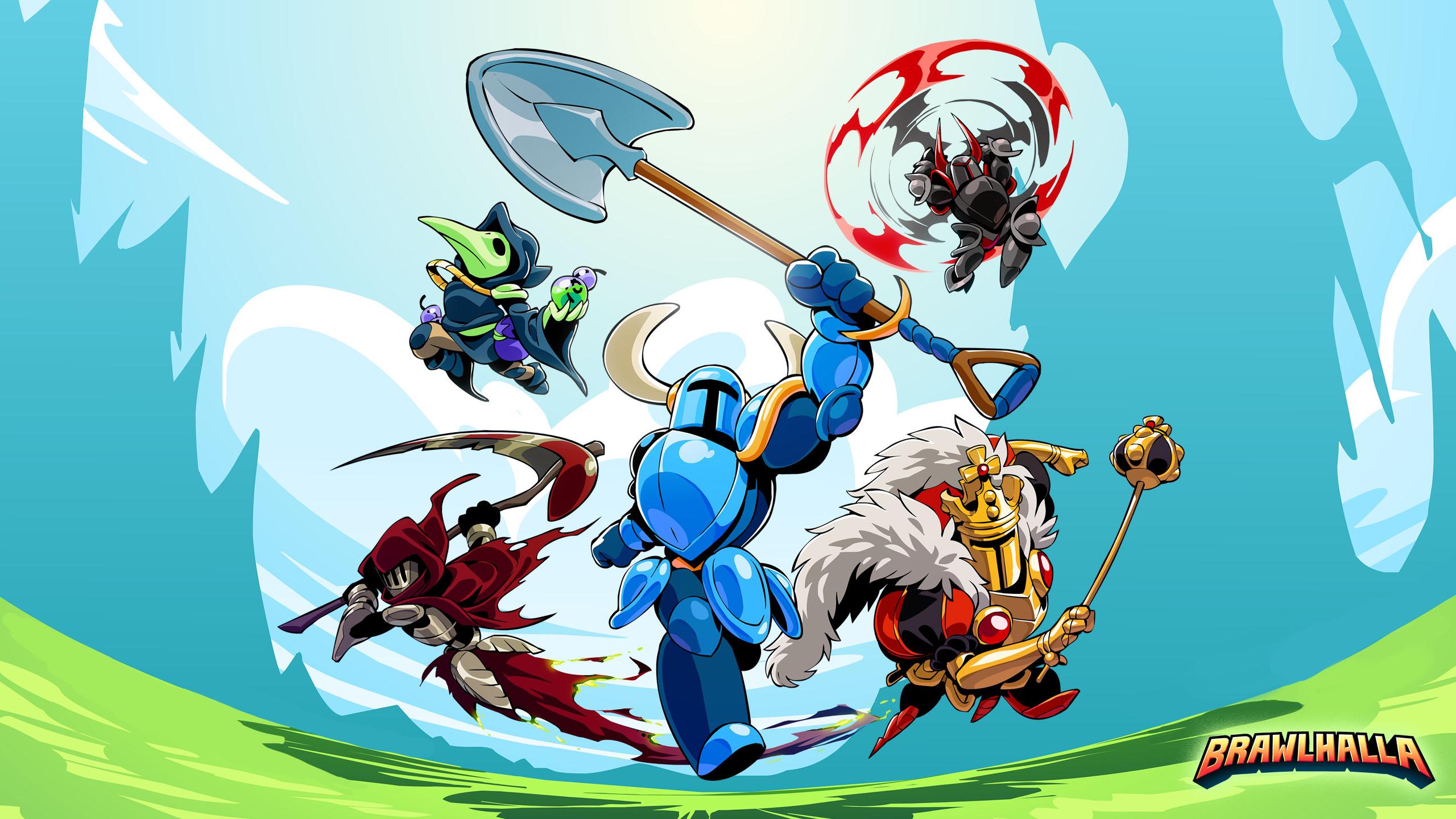 Brawlhalla Game Poster 2560x1440
