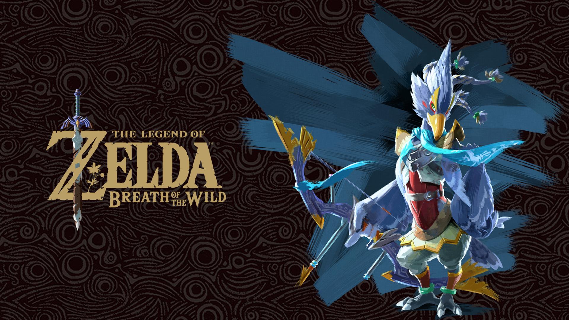 Revali The Legend Of Zelda The Legend Of Zelda Breath Of The Wild 1920x1080