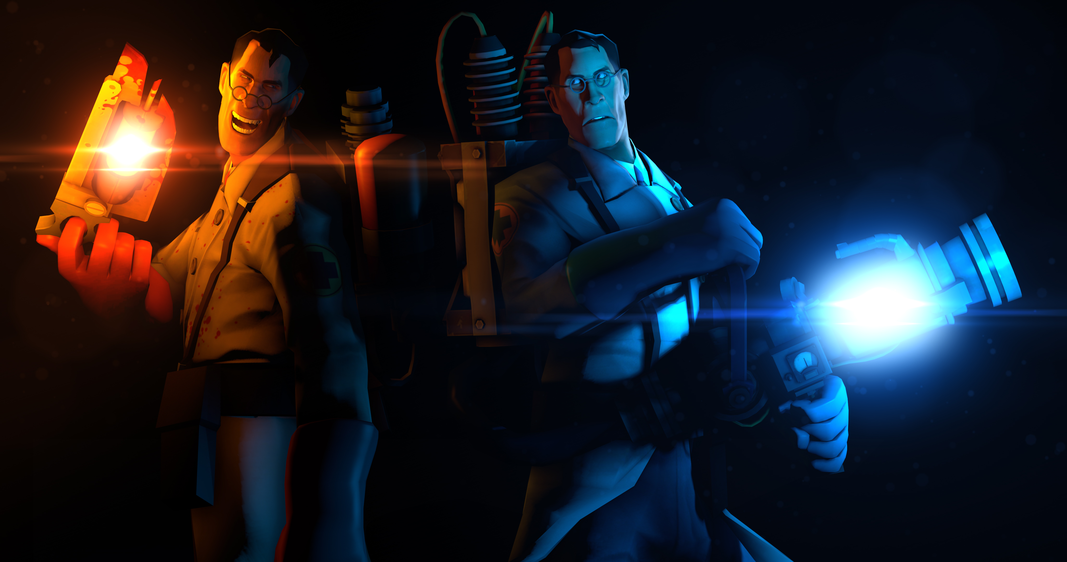 Video Game Team Fortress 2 4096x2160