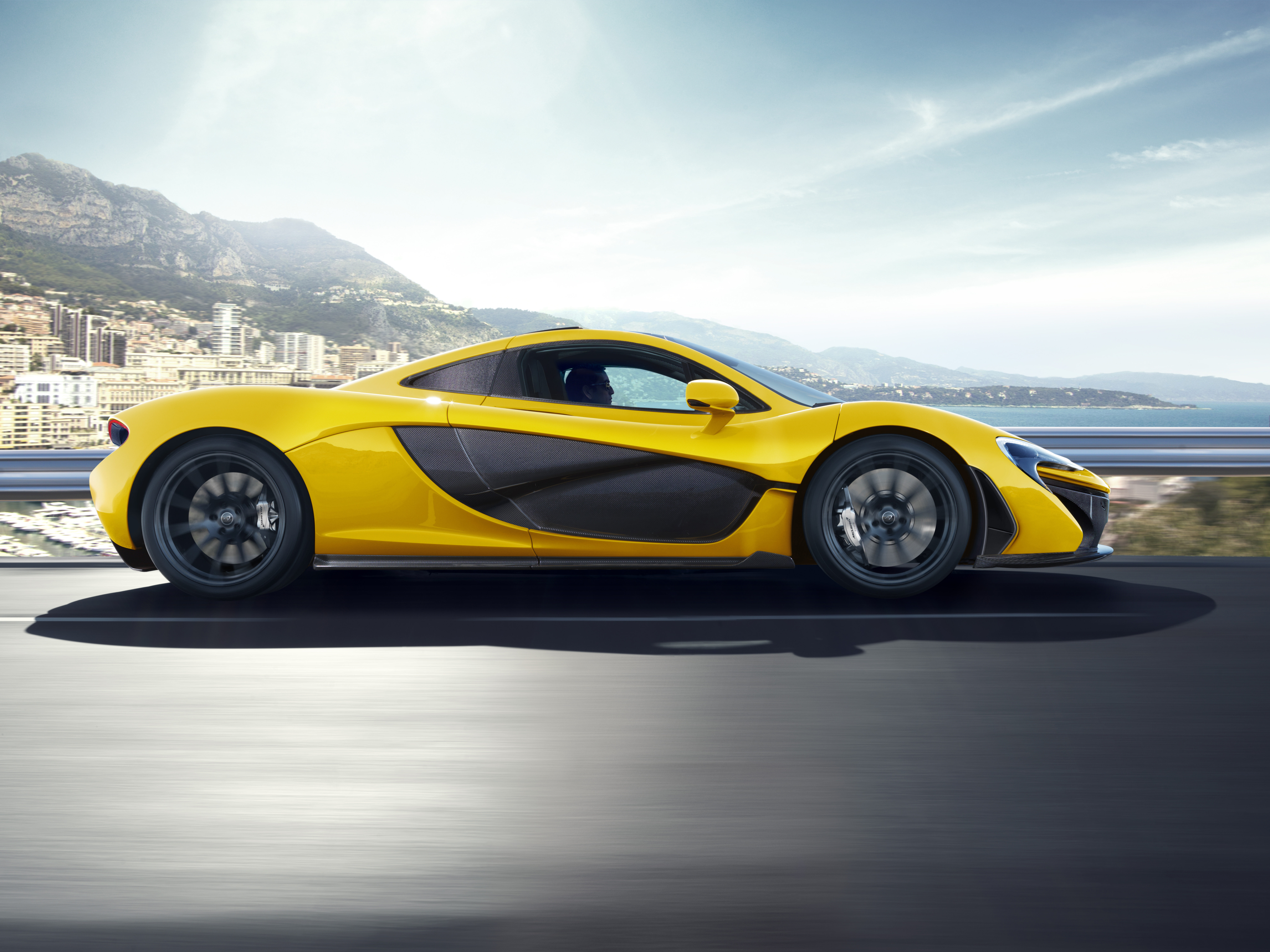 Car Mclaren Mclaren P1 Sport Car Supercar Vehicle Yellow Car 8176x6132