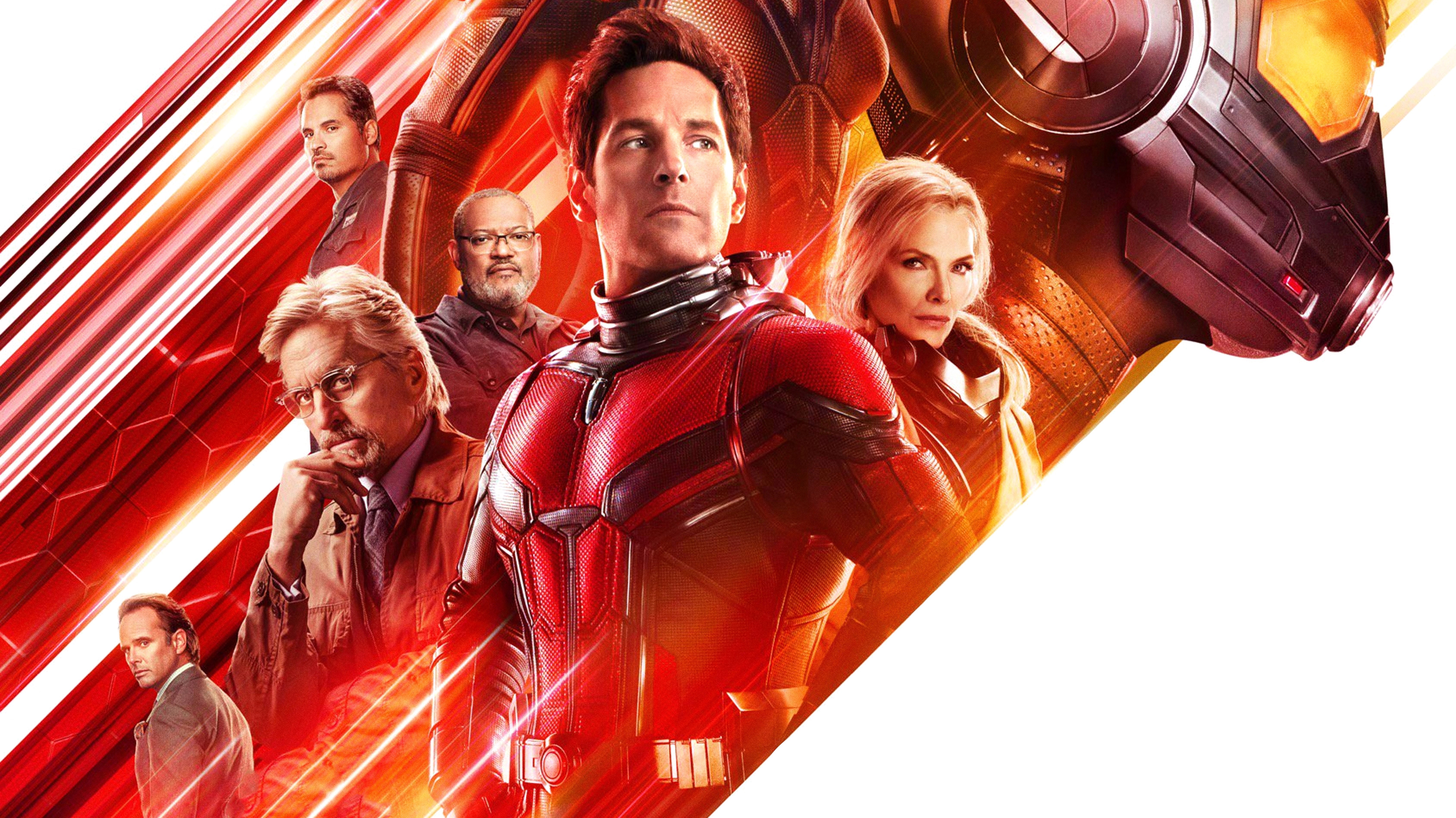 Ant Man Ant Man And The Wasp Bill Foster Evangeline Lilly Goliath Marvel Comics Hank Pym Hope Pym Ja 3376x1899