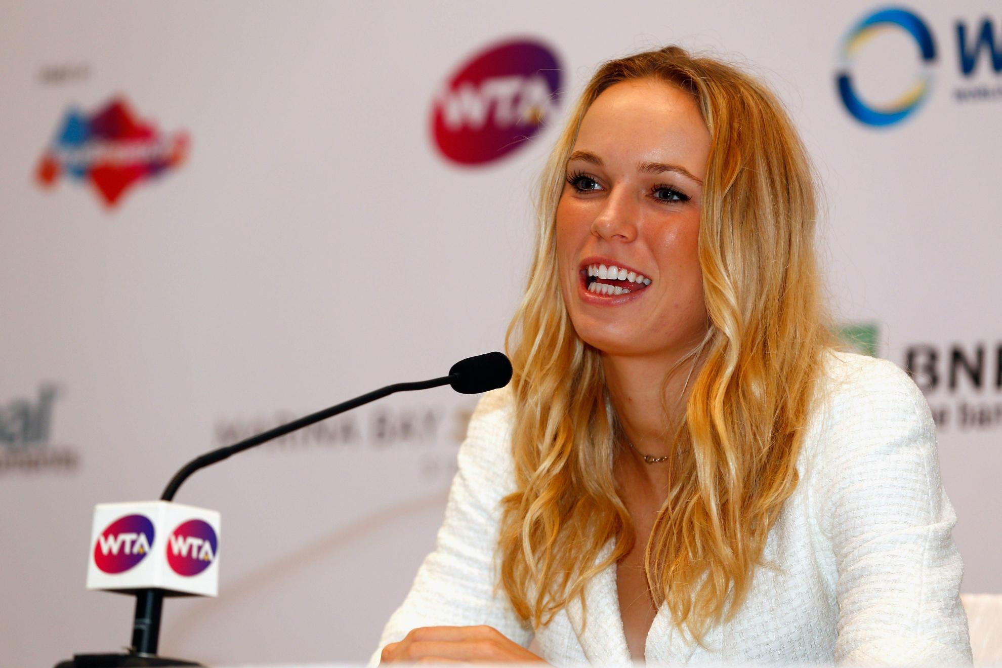 Caroline Wozniacki Danish Tennis 1980x1320