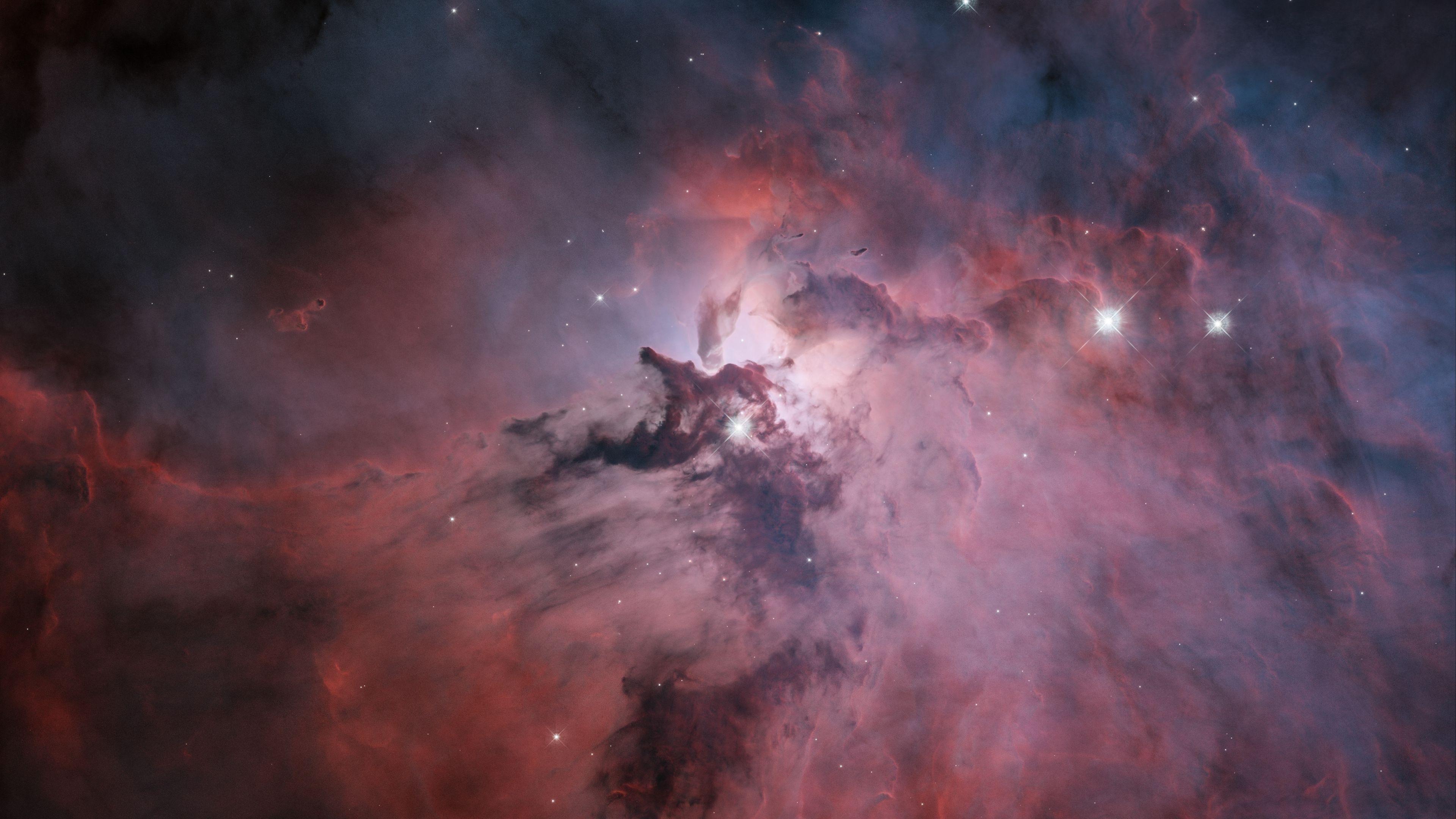 Nebula Stars Galaxy Milky Way Andromeda Space Universe Planet Helix Nebula 3840x2160