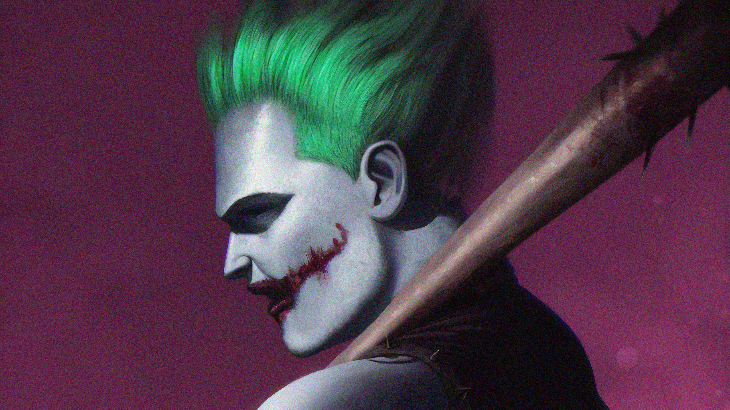 Baseball Bat Dc Comics Joker 2560x1440
