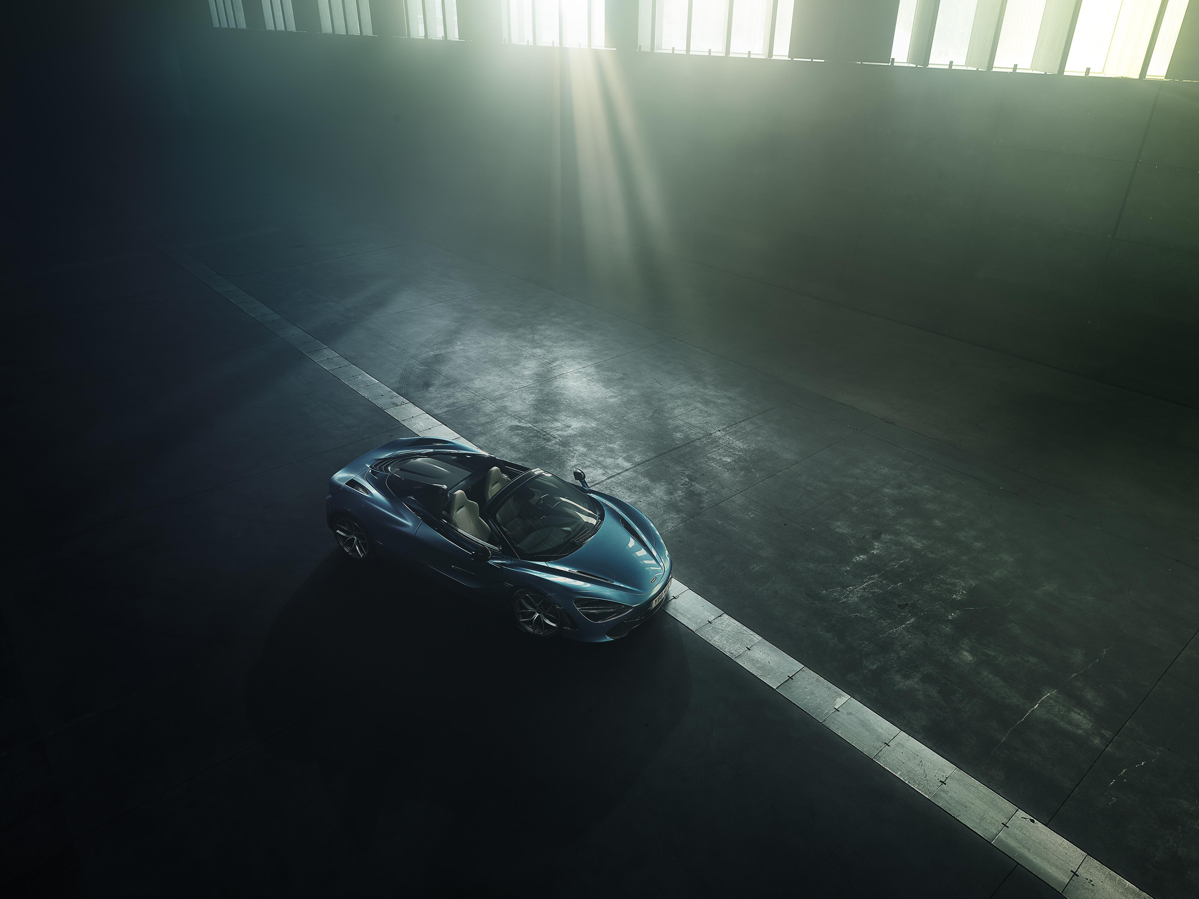 Blue Car Car Mclaren Mclaren 720s Sport Car Supercar Vehicle 4000x3001