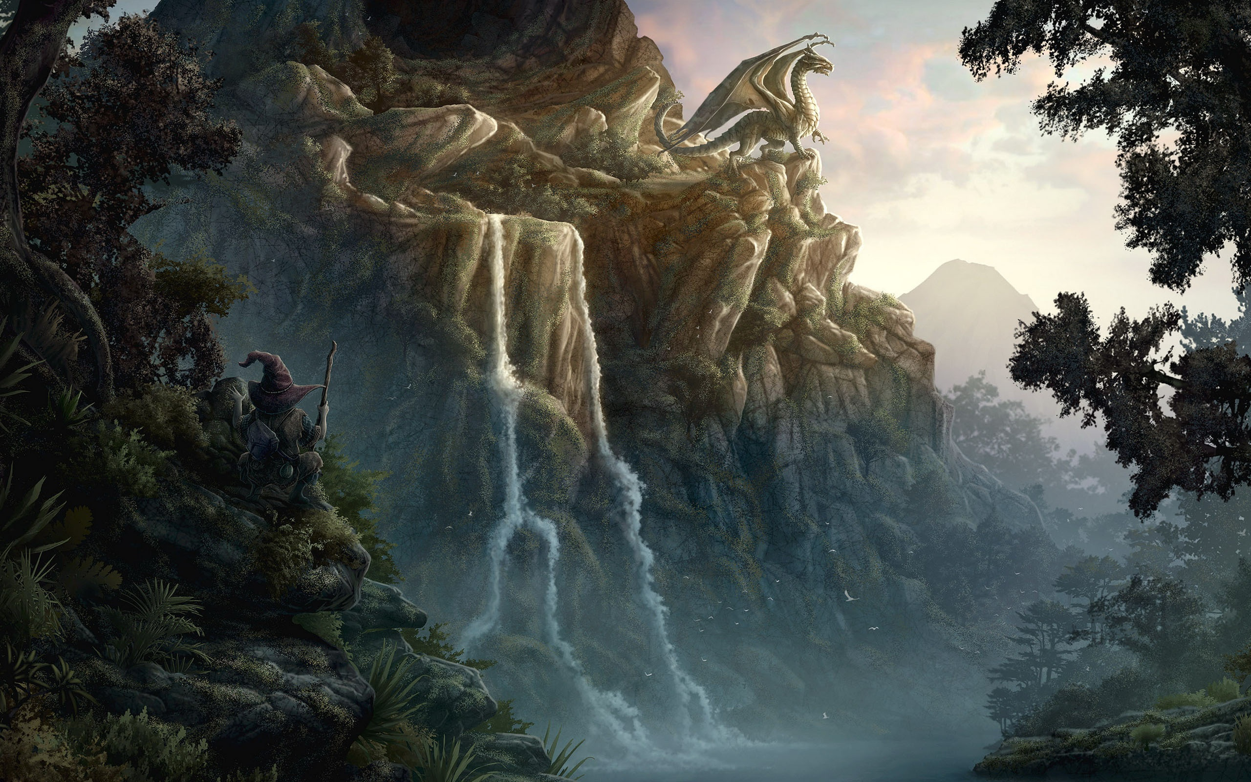 Fantasy Dragon 2560x1600