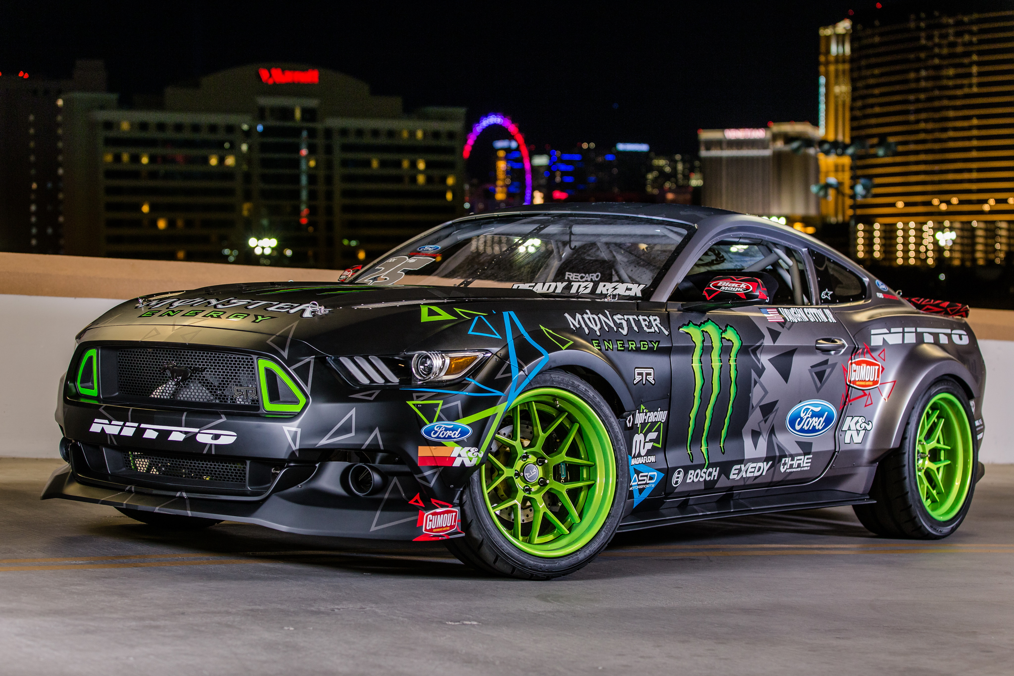 Ford Mustang Rtr Hot Rod Muscle Car Race Car 4096x2731