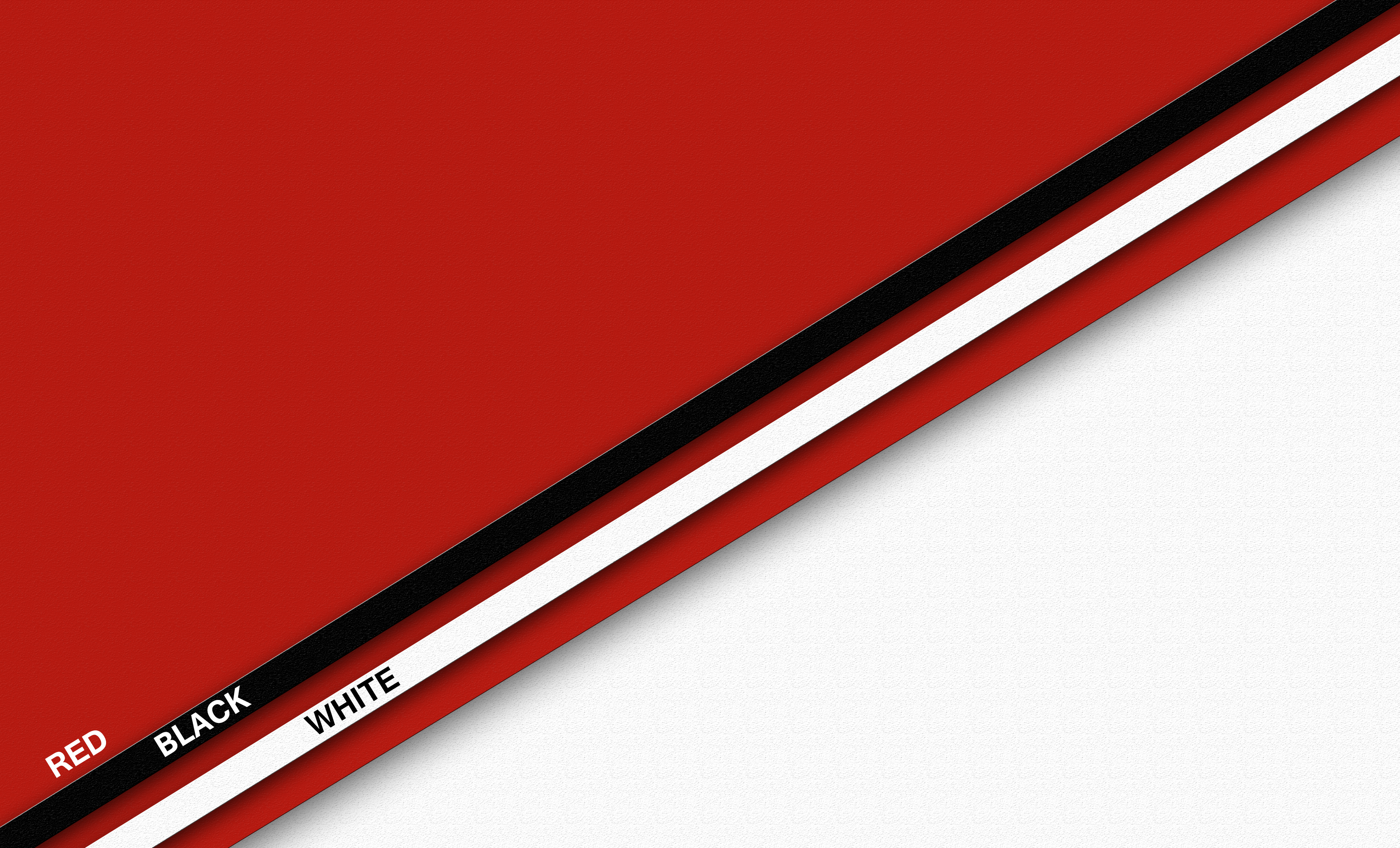 Black Pattern Red White 3960x2400