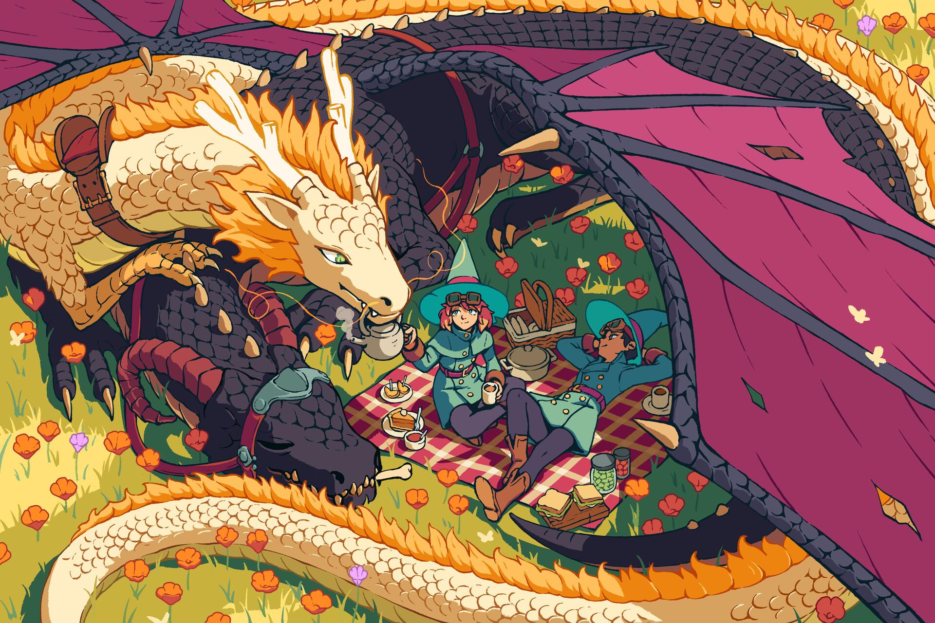 Fantasy Dragon 1920x1280