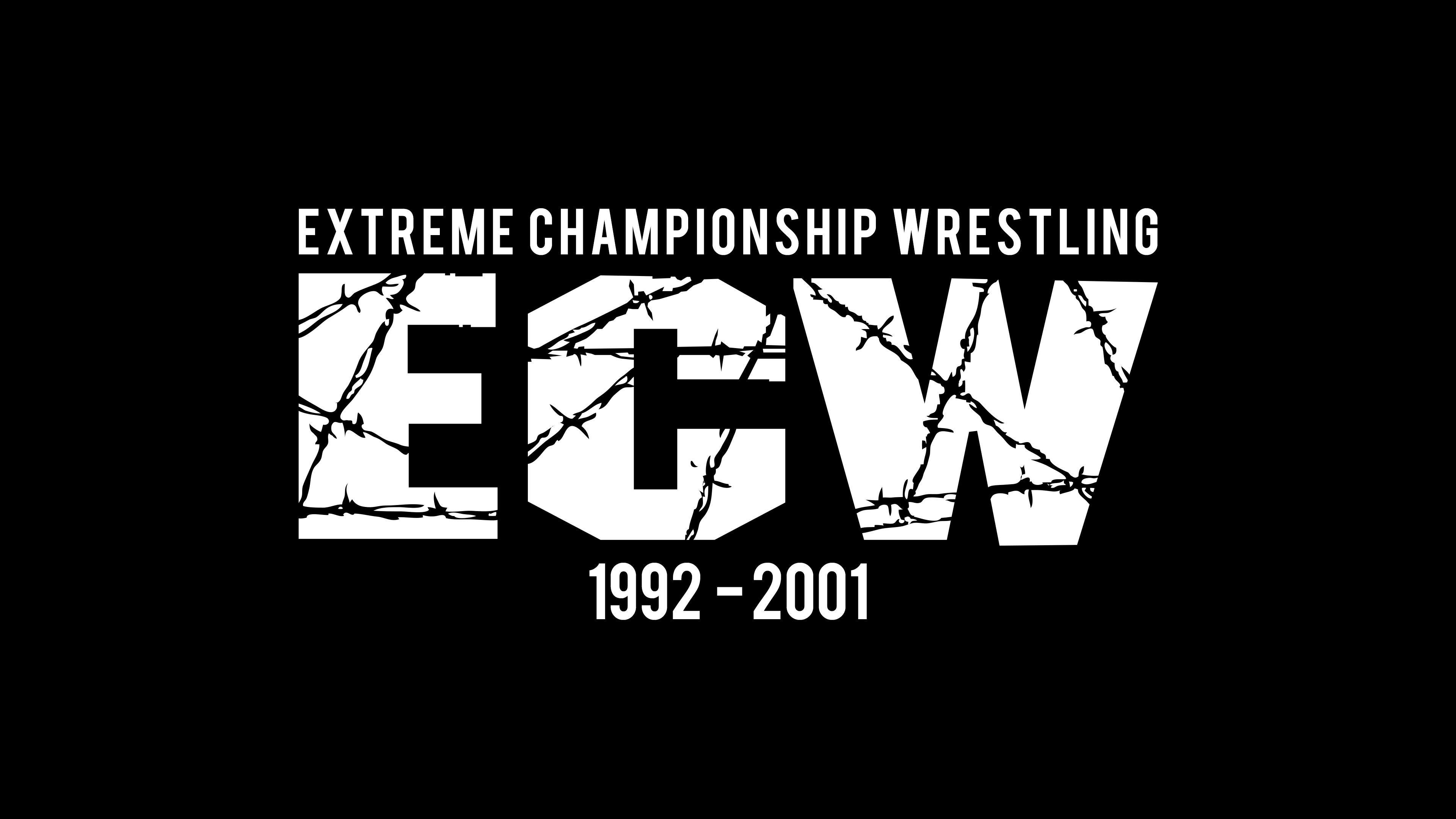 Typography Black Background Wrestling 3840x2160